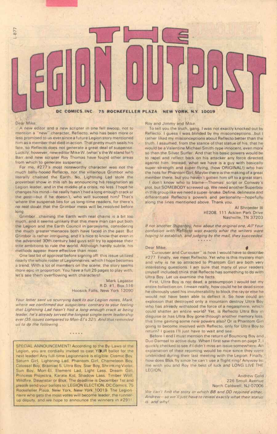 Legion of Super-Heroes (1980) 282 Page 28