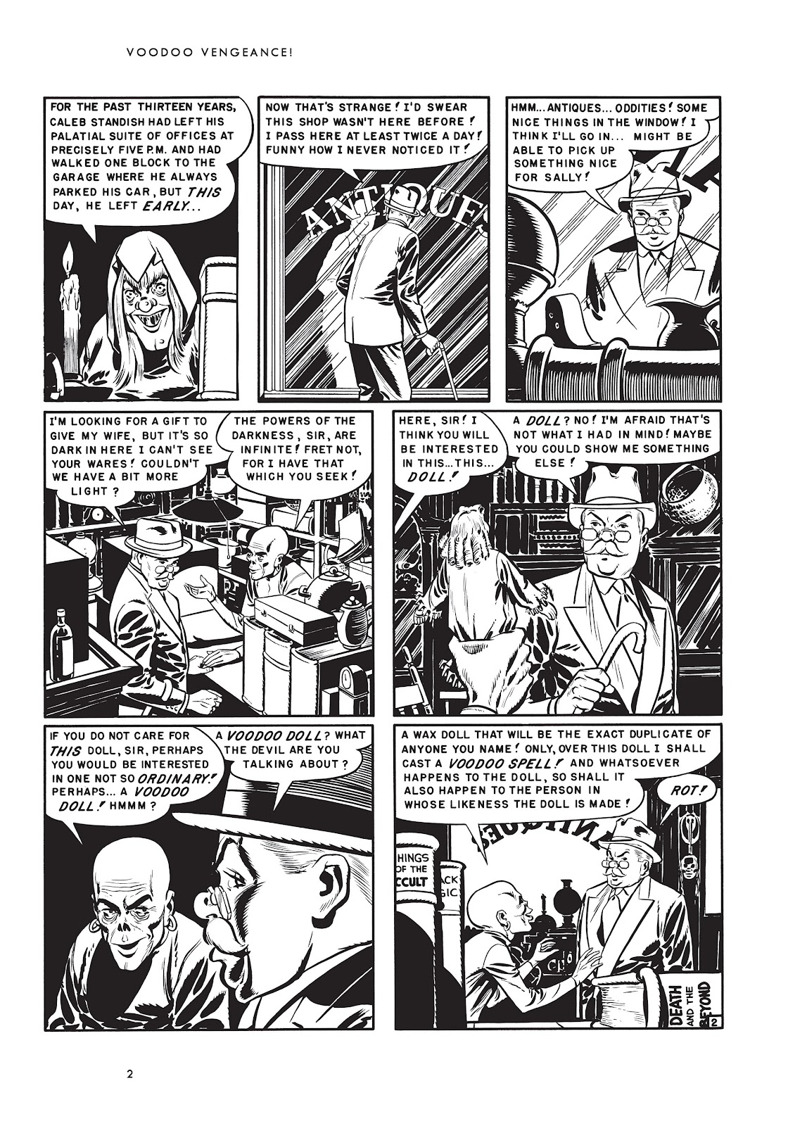 Read online Voodoo Vengeance and Other Stories comic -  Issue # TPB (Part 1) - 19