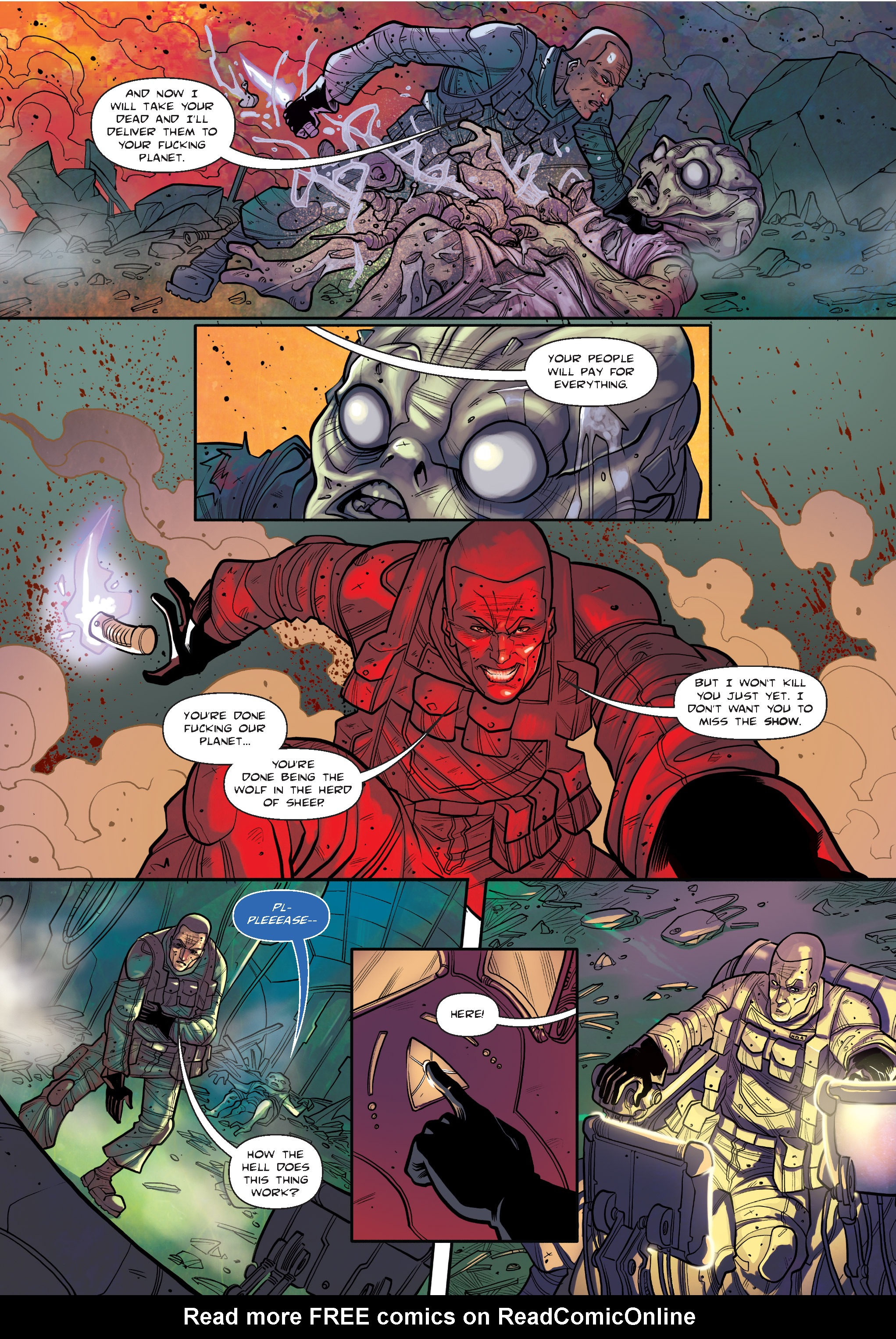 Read online The Shadow of a Terrible Thing comic -  Issue # TPB - 136