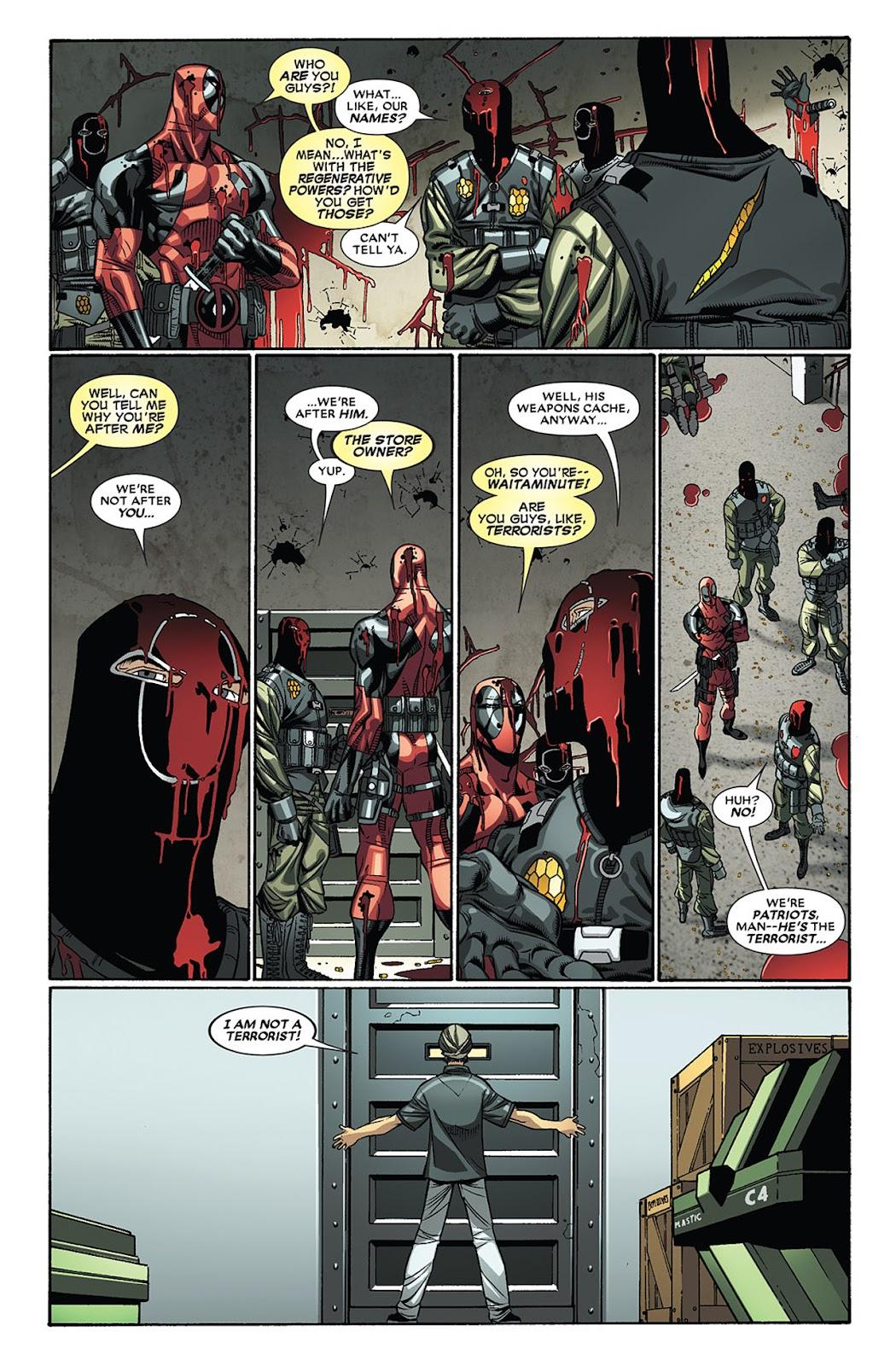 Read online Deadpool (2008) comic -  Issue #27 - 13
