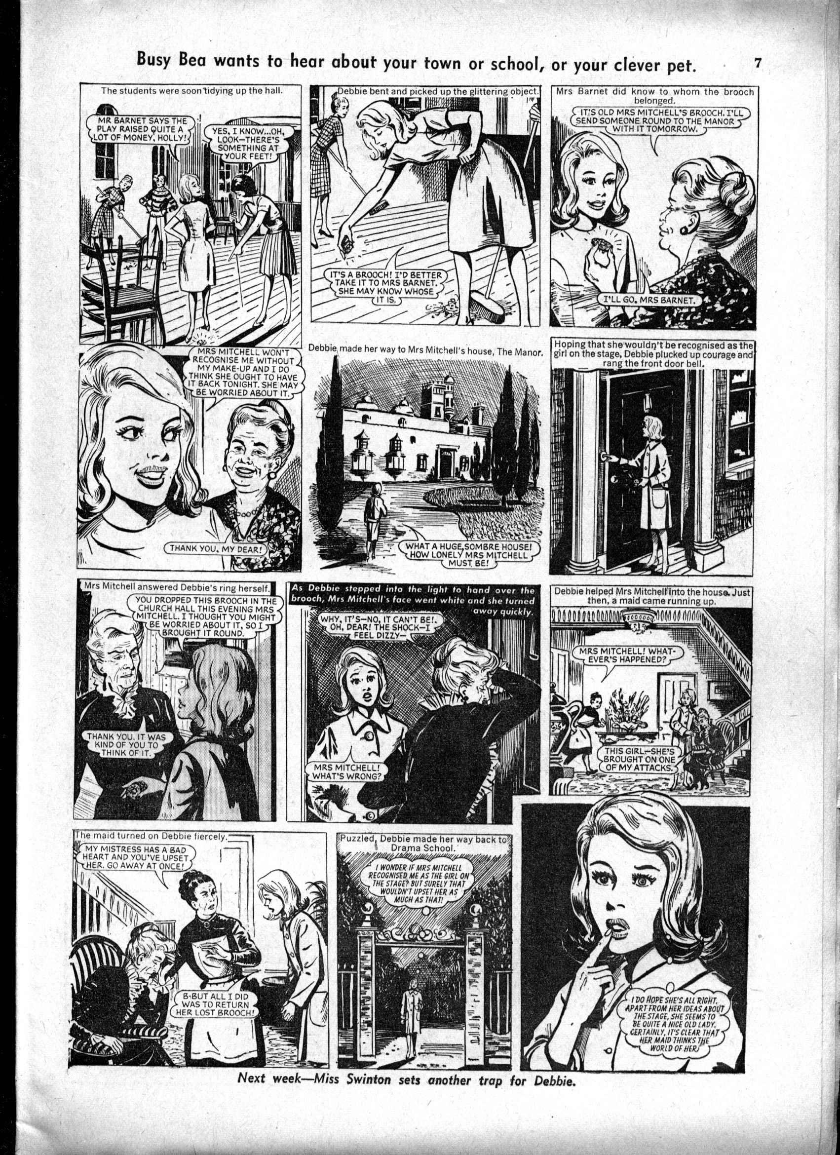 Read online Judy comic -  Issue #162 - 7