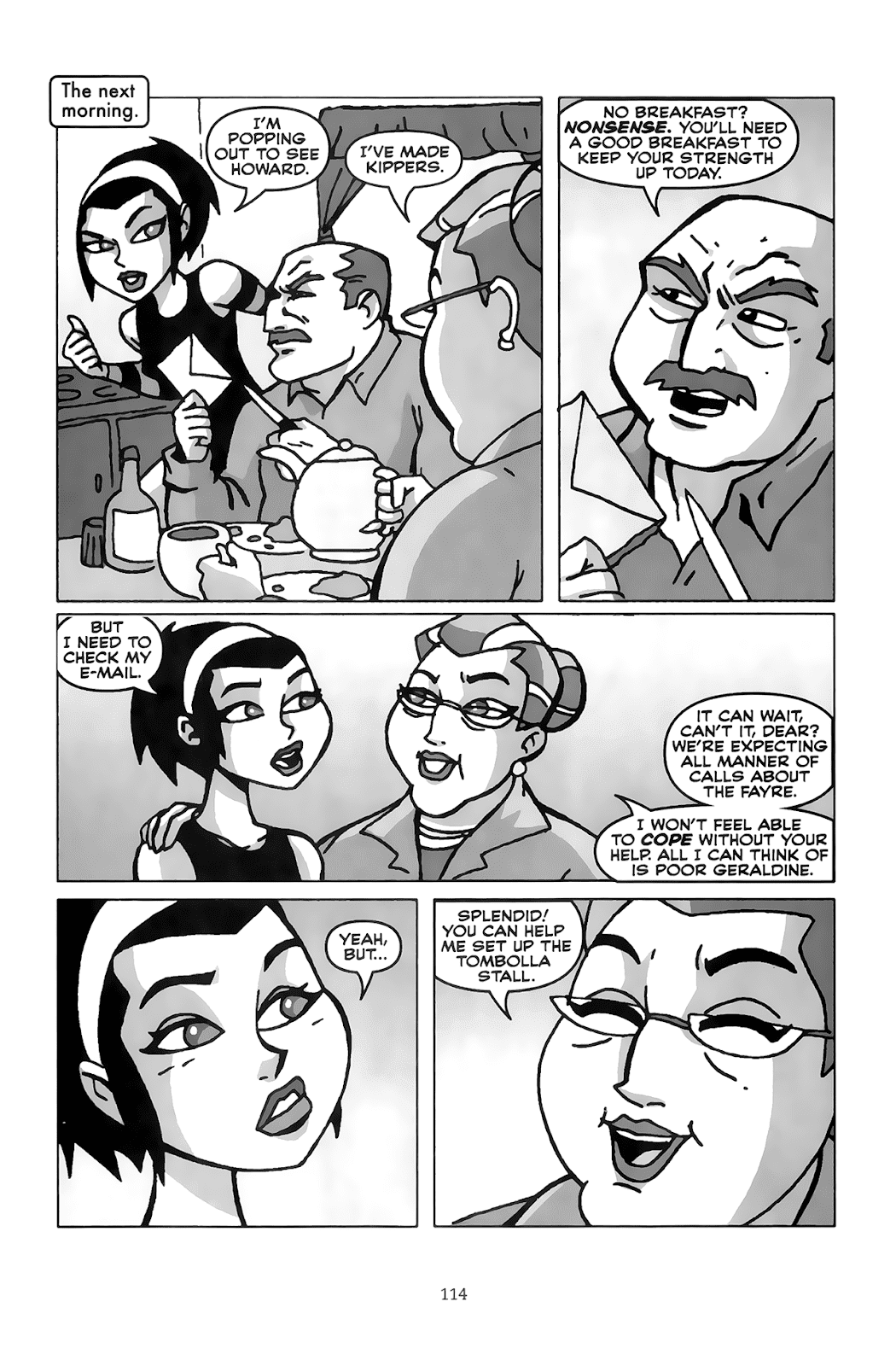 Read online Clubbing comic -  Issue # TPB - 110