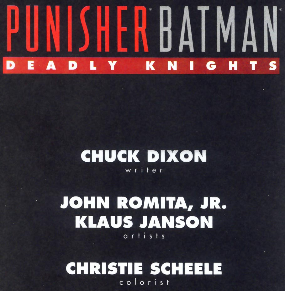 Read online Punisher/Batman: Deadly Knights comic -  Issue # Full - 3