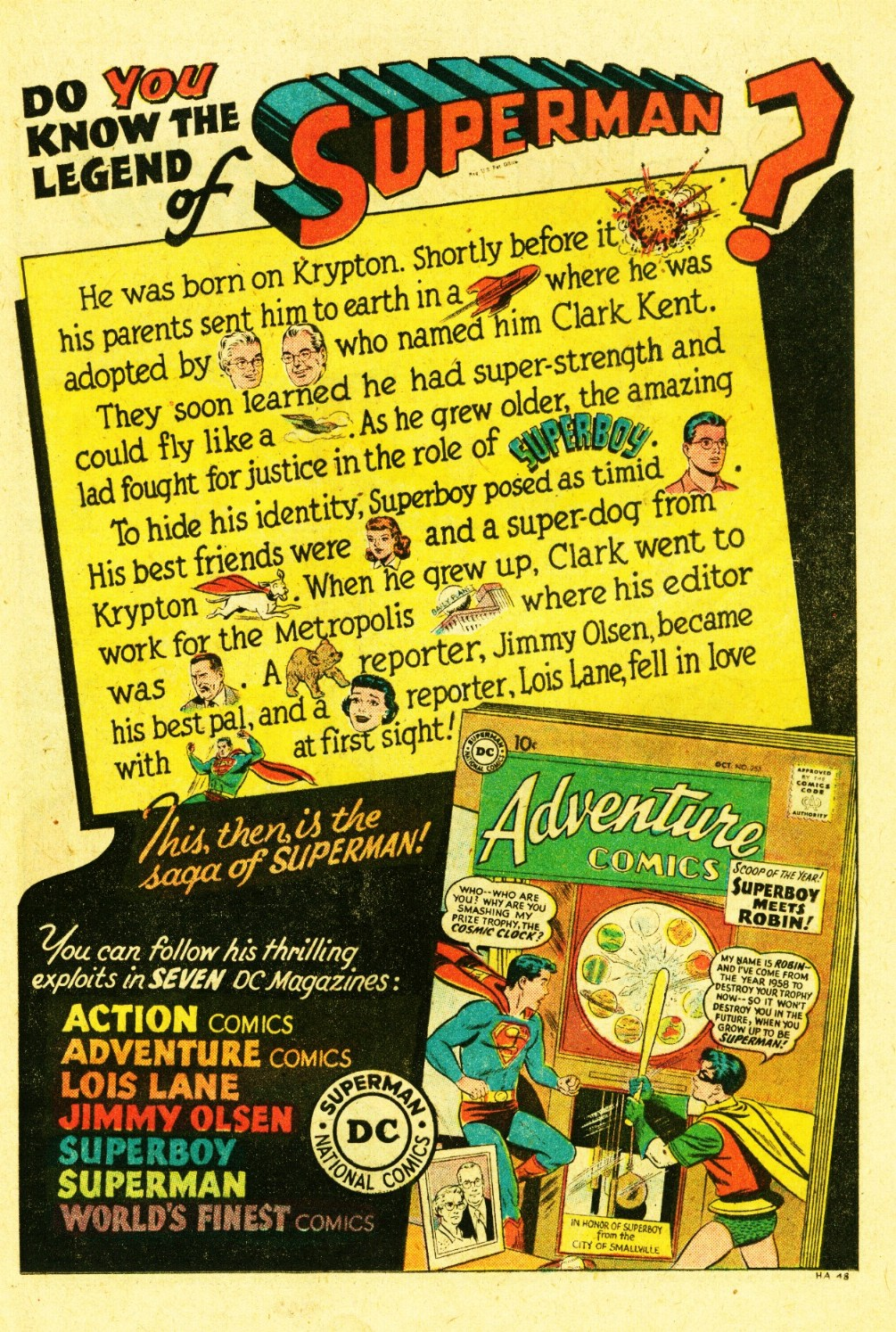 Read online Action Comics (1938) comic -  Issue #245 - 17