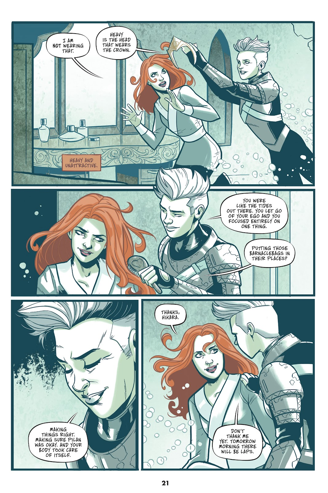Read online Mera: Tidebreaker comic -  Issue # TPB (Part 1) - 21