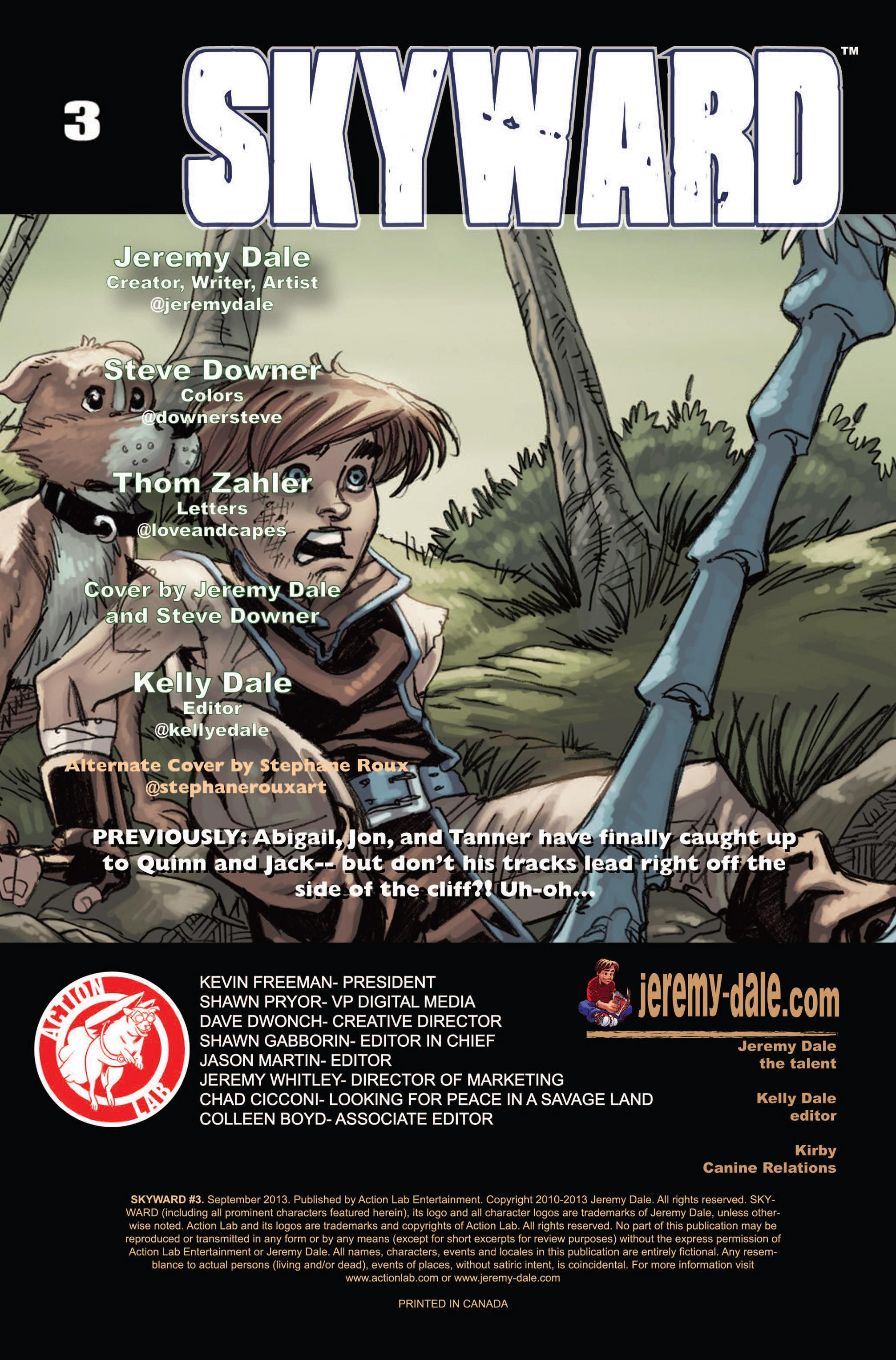 Read online Skyward comic -  Issue #3 - 2