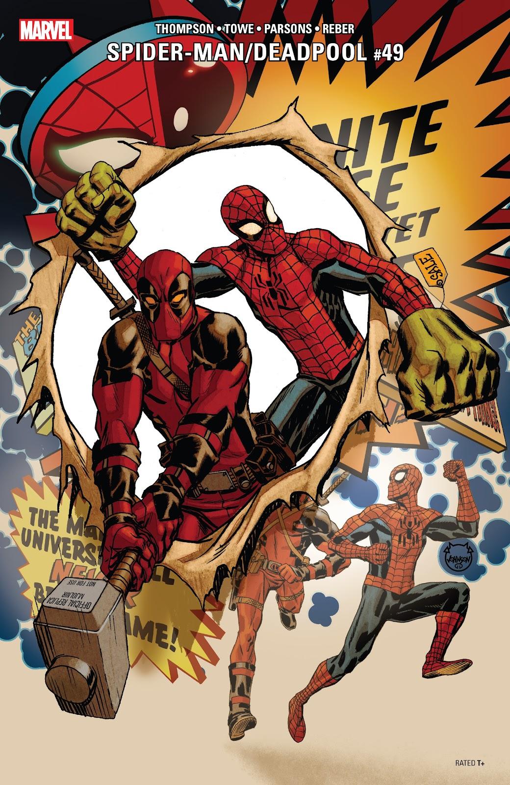 Read online Spider-Man/Deadpool comic -  Issue #49 - 1