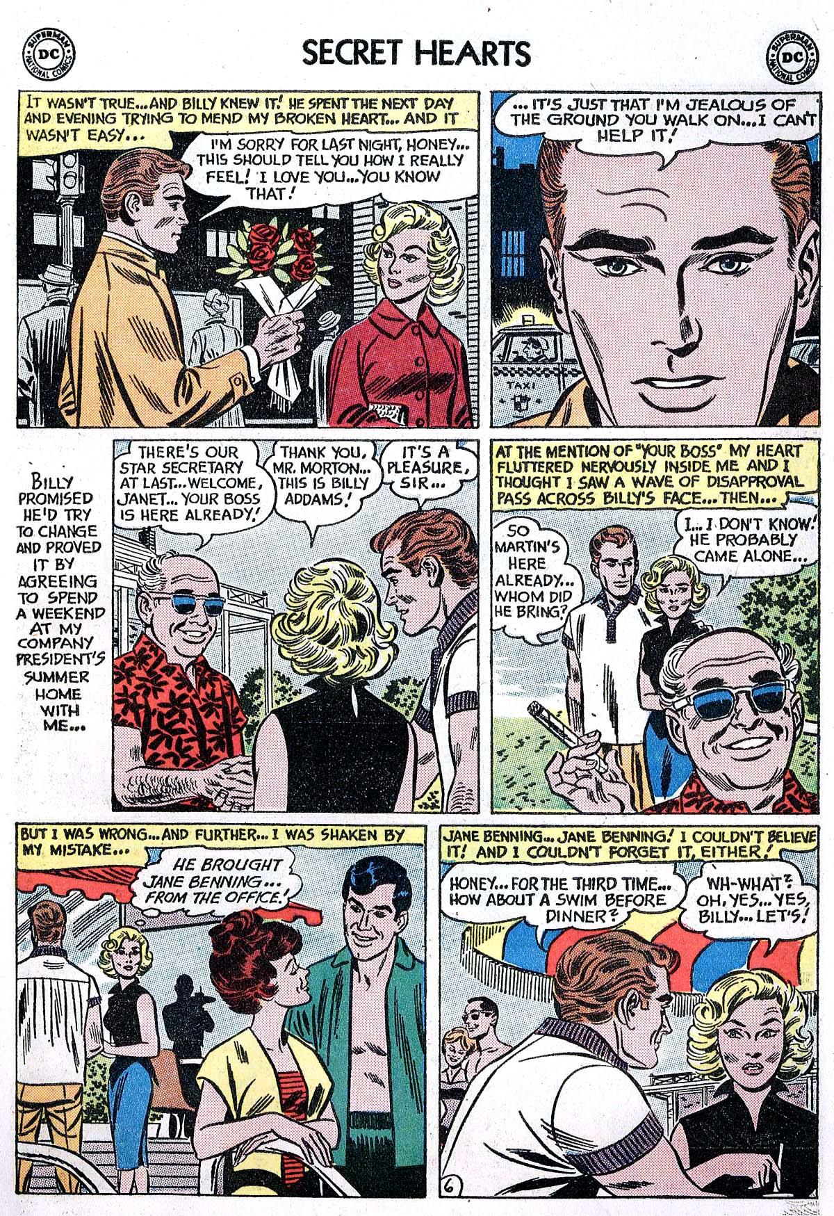 Read online Secret Hearts comic -  Issue #82 - 15