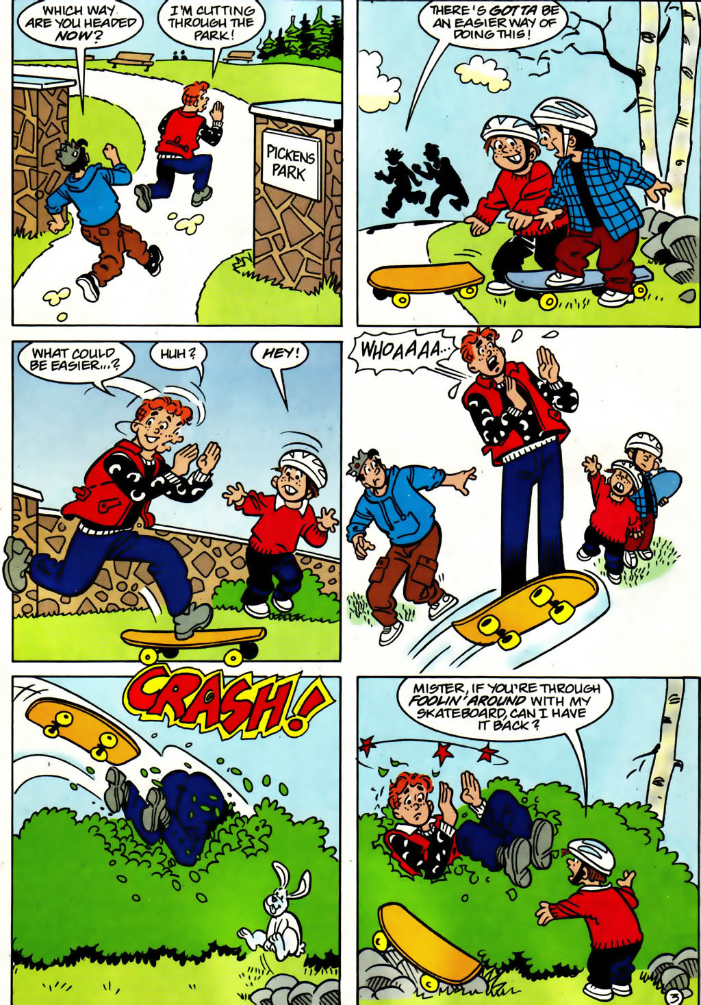 Read online Archie (1960) comic -  Issue #561 - 21