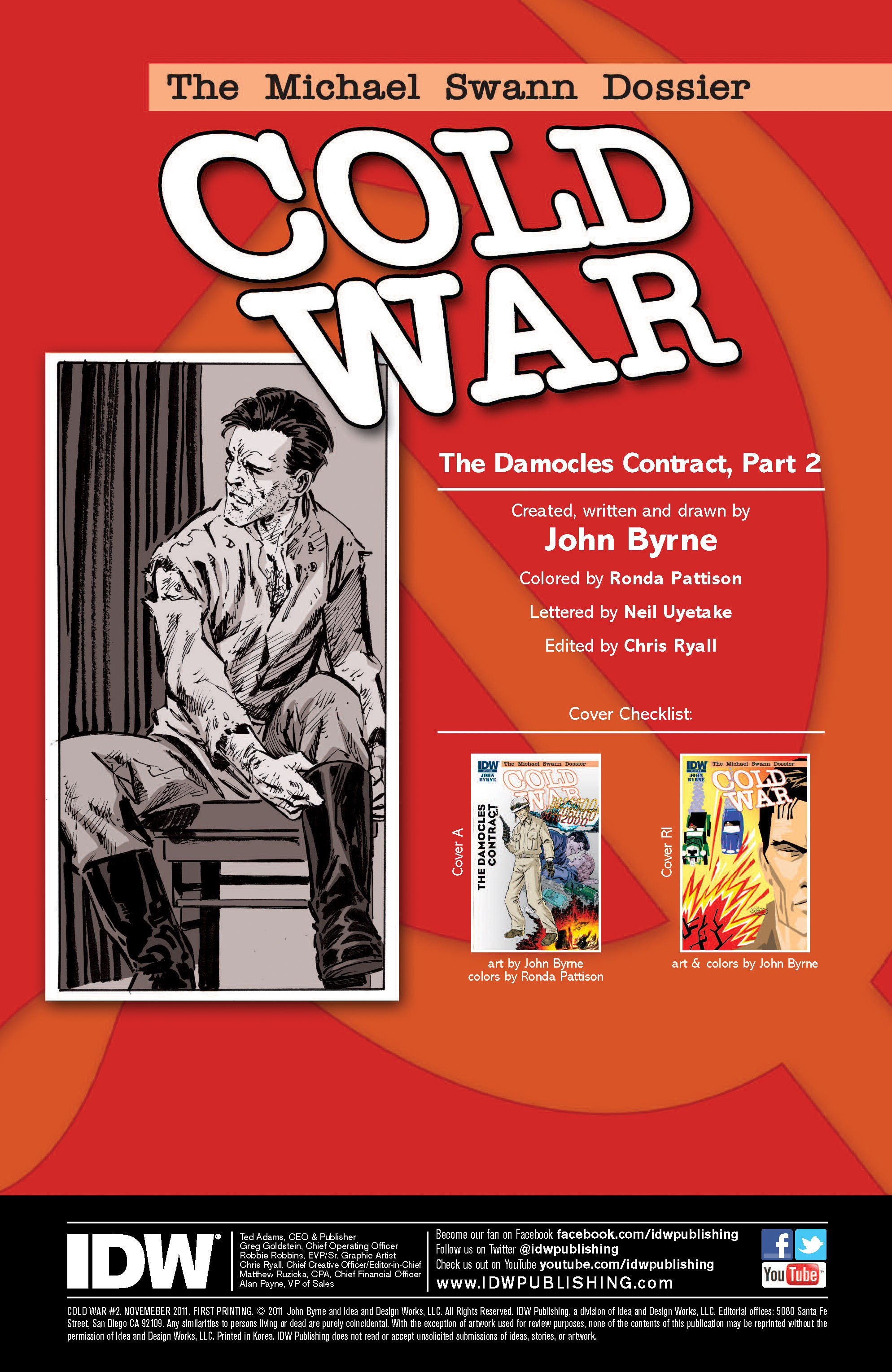 Read online Cold War comic -  Issue # TPB - 34