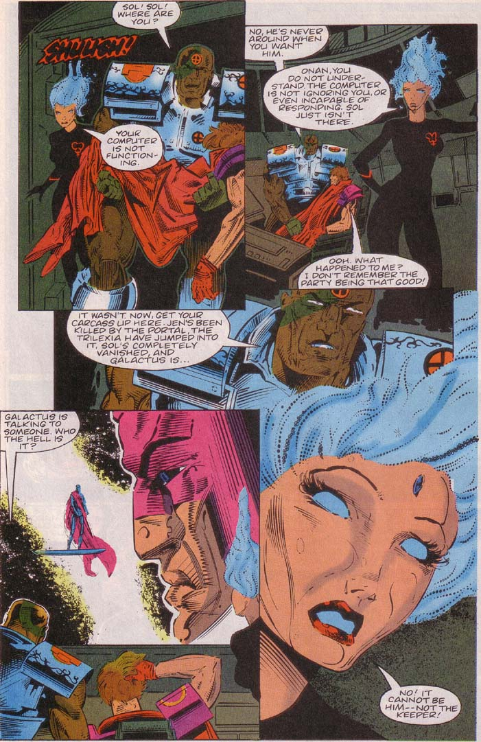 Read online Cyberspace 3000 comic -  Issue #3 - 14