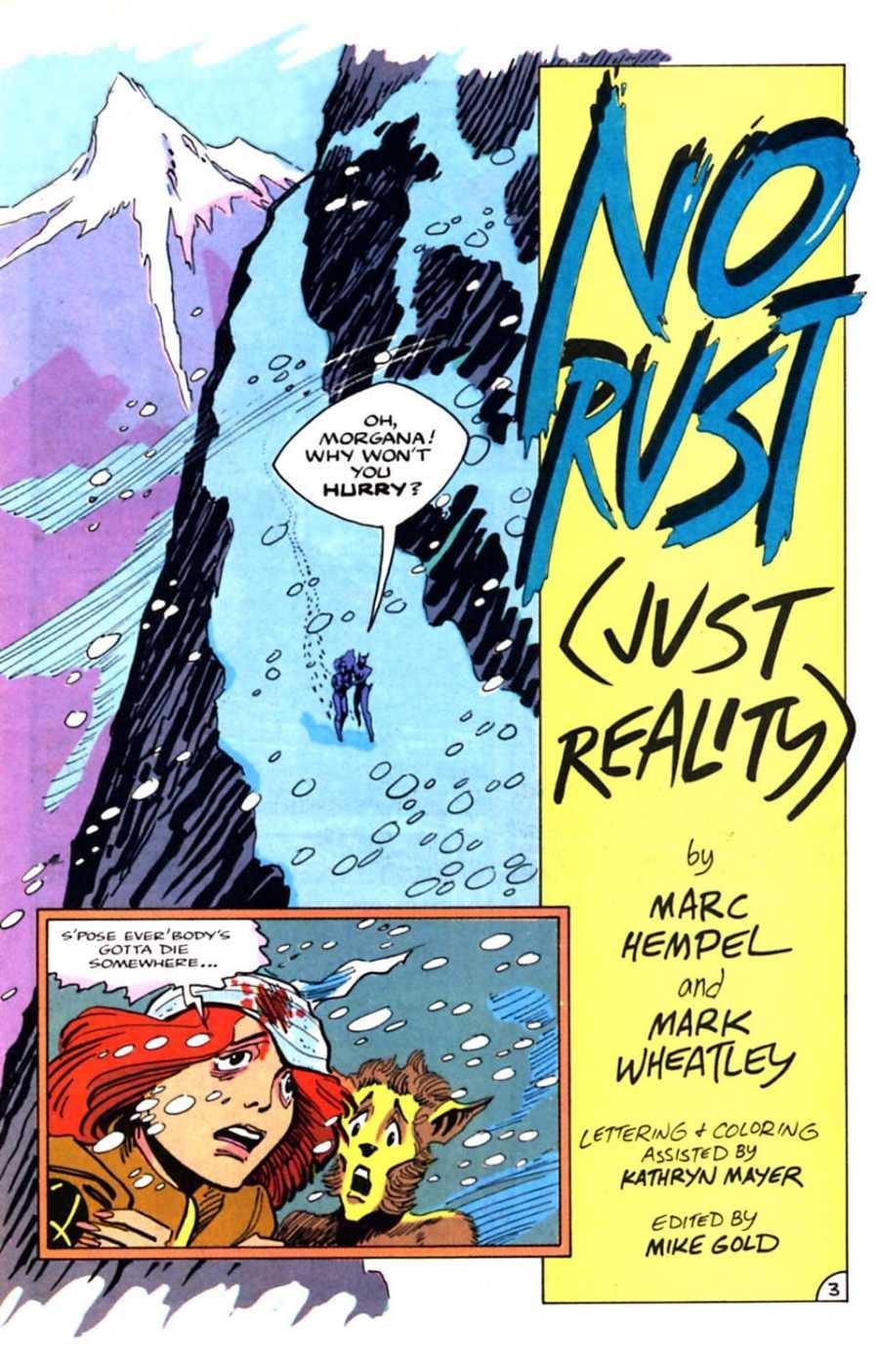 Read online Mars comic -  Issue #10 - 5