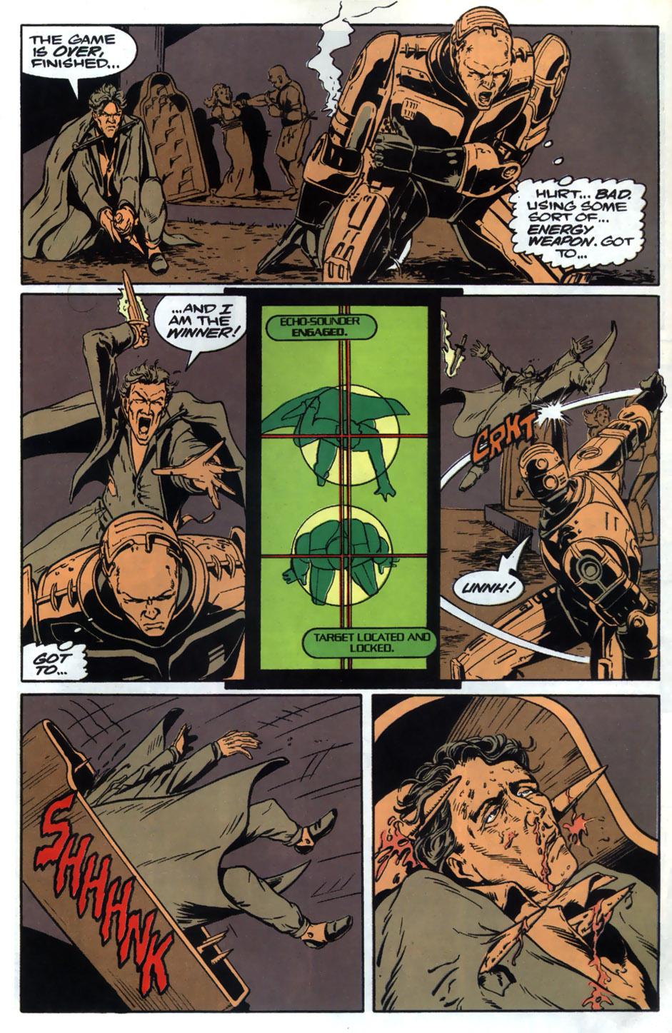 Read online Robocop (1990) comic -  Issue #20 - 22