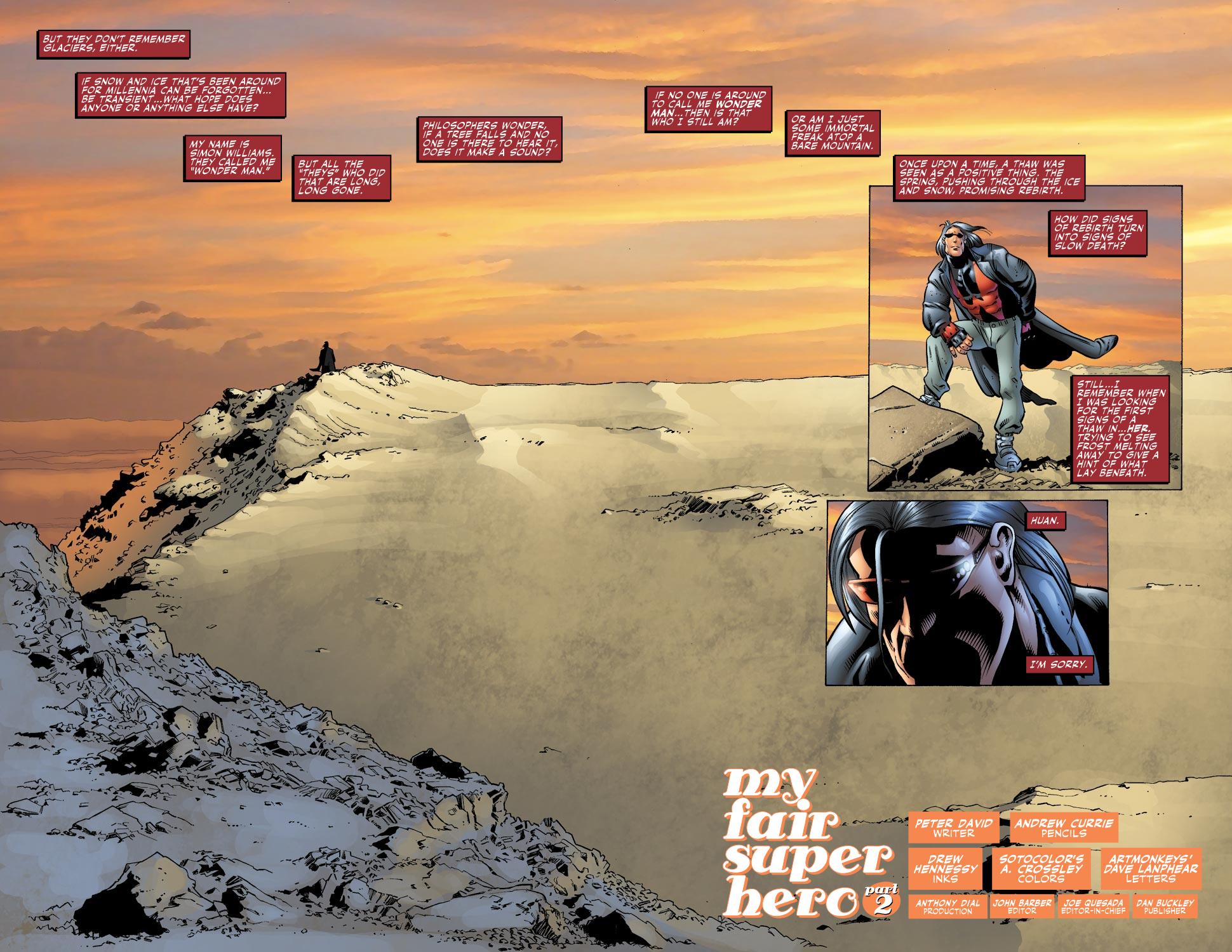 Read online Wonder Man (2007) comic -  Issue #2 - 3
