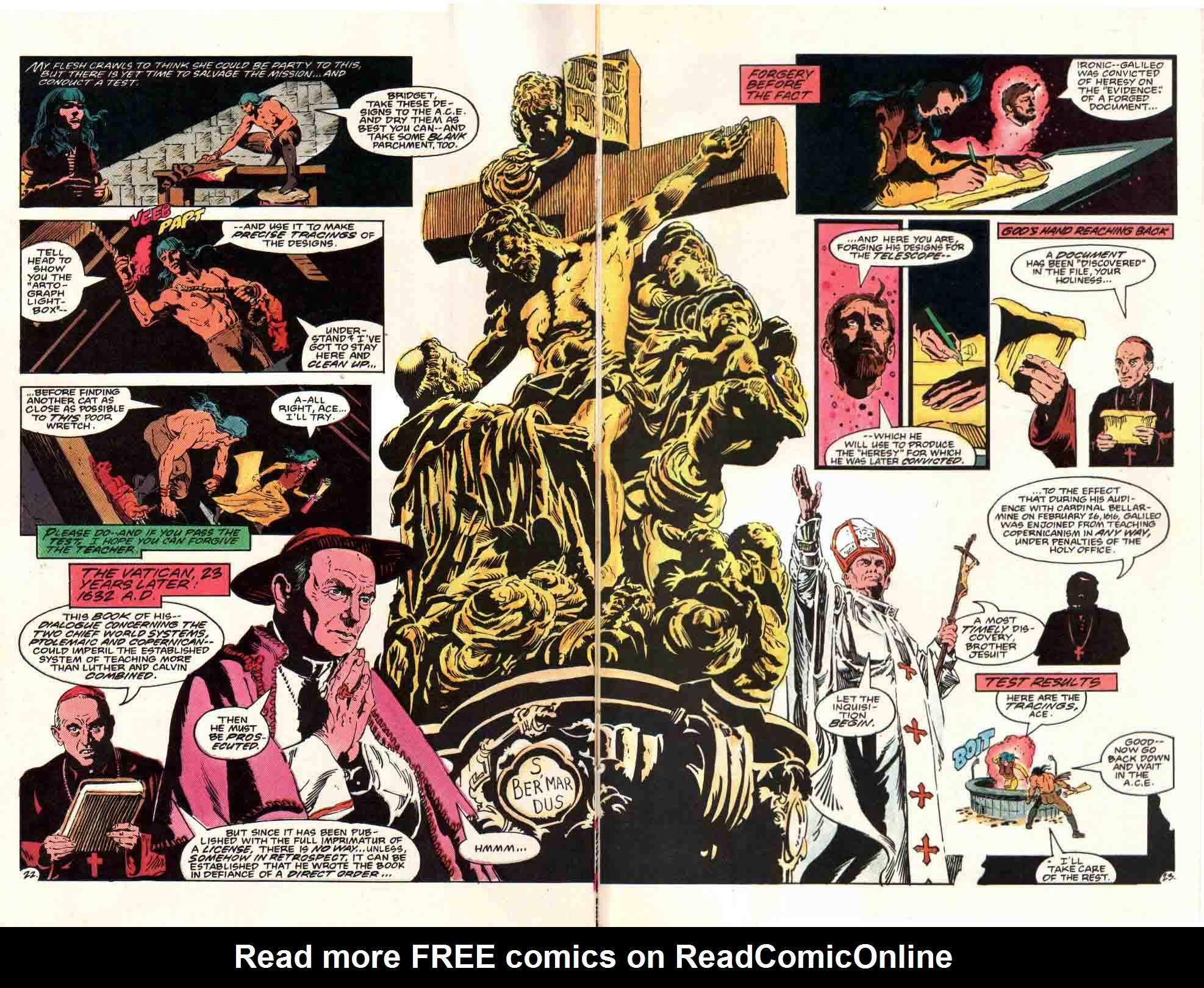 Read online Aztec Ace comic -  Issue #8 - 24