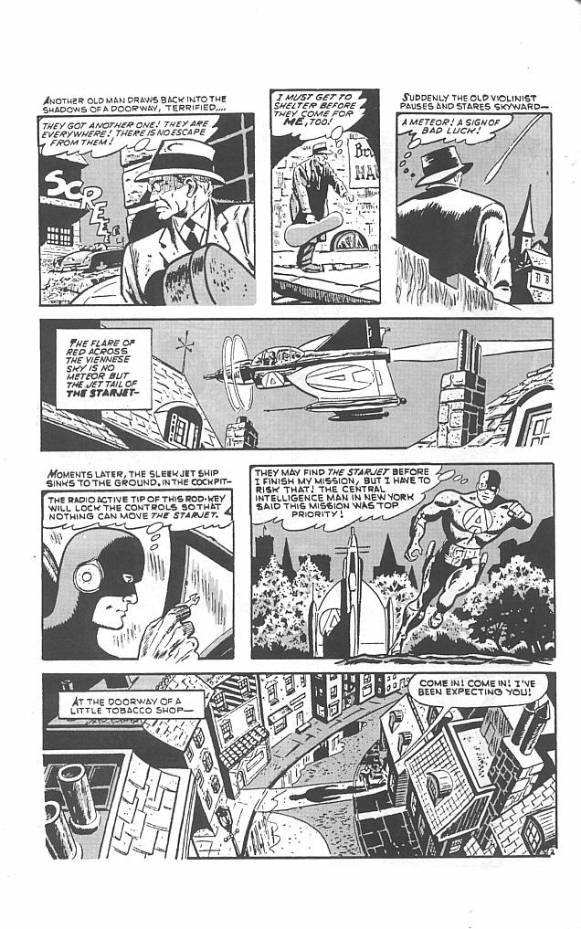 Read online Golden-Age Men of Mystery comic -  Issue #5 - 4