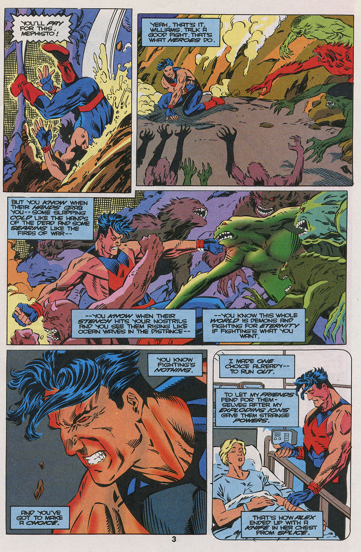 Read online Wonder Man (1991) comic -  Issue #22 - 4