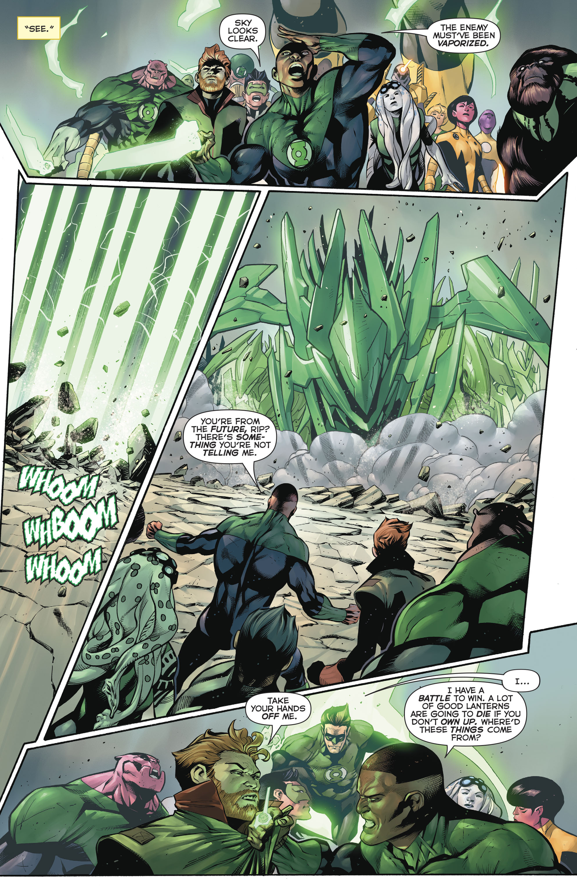 Read online Hal Jordan And The Green Lantern Corps comic -  Issue #20 - 14