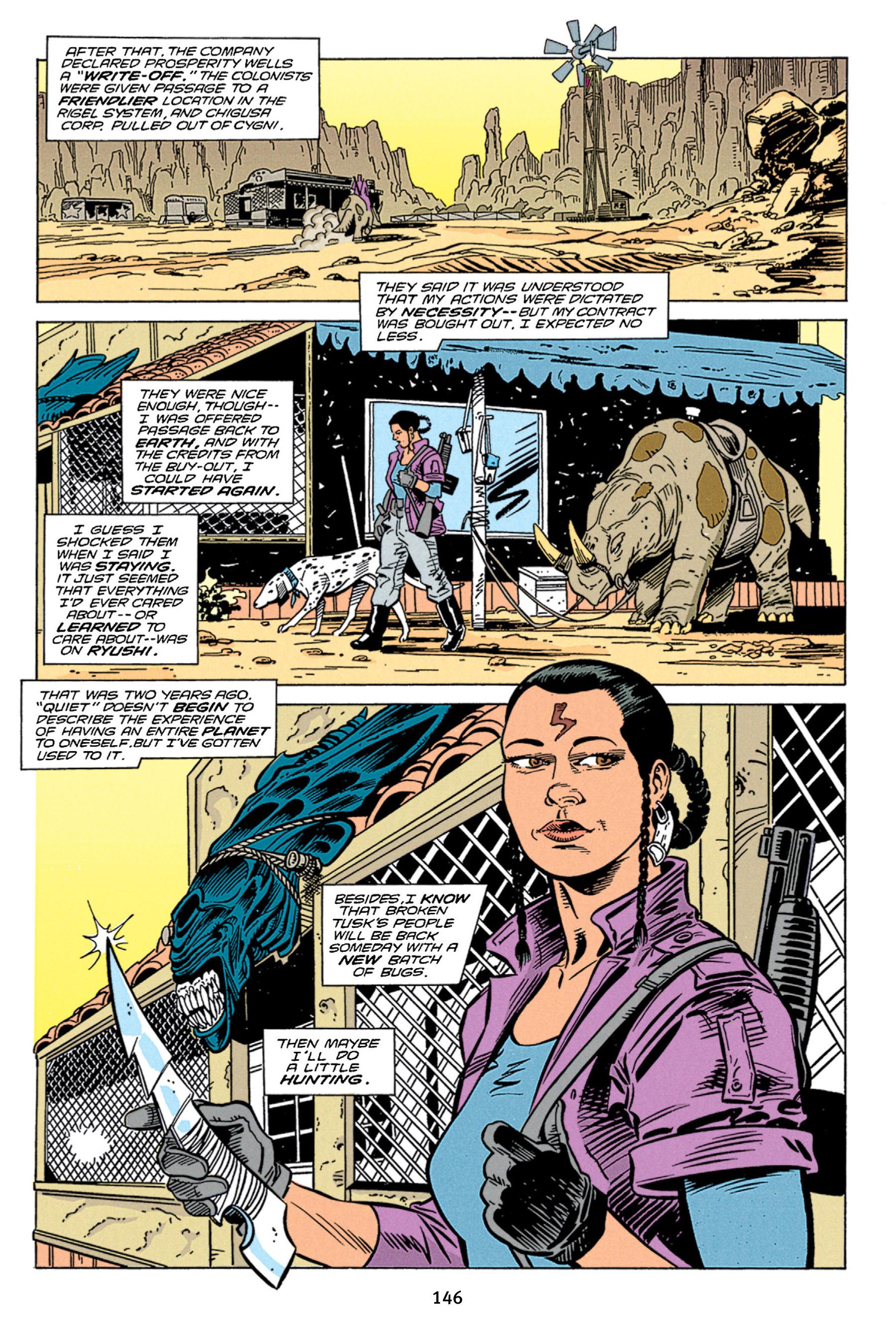 Read online Aliens vs. Predator Omnibus comic -  Issue # _TPB 1 Part 2 - 45
