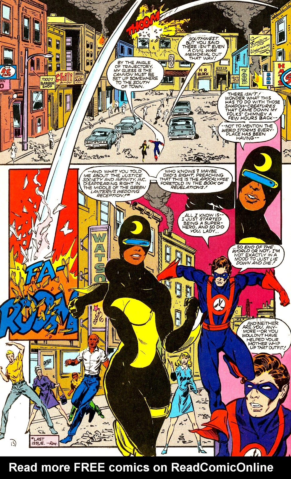 Infinity Inc. (1984) issue 22 - Page 15