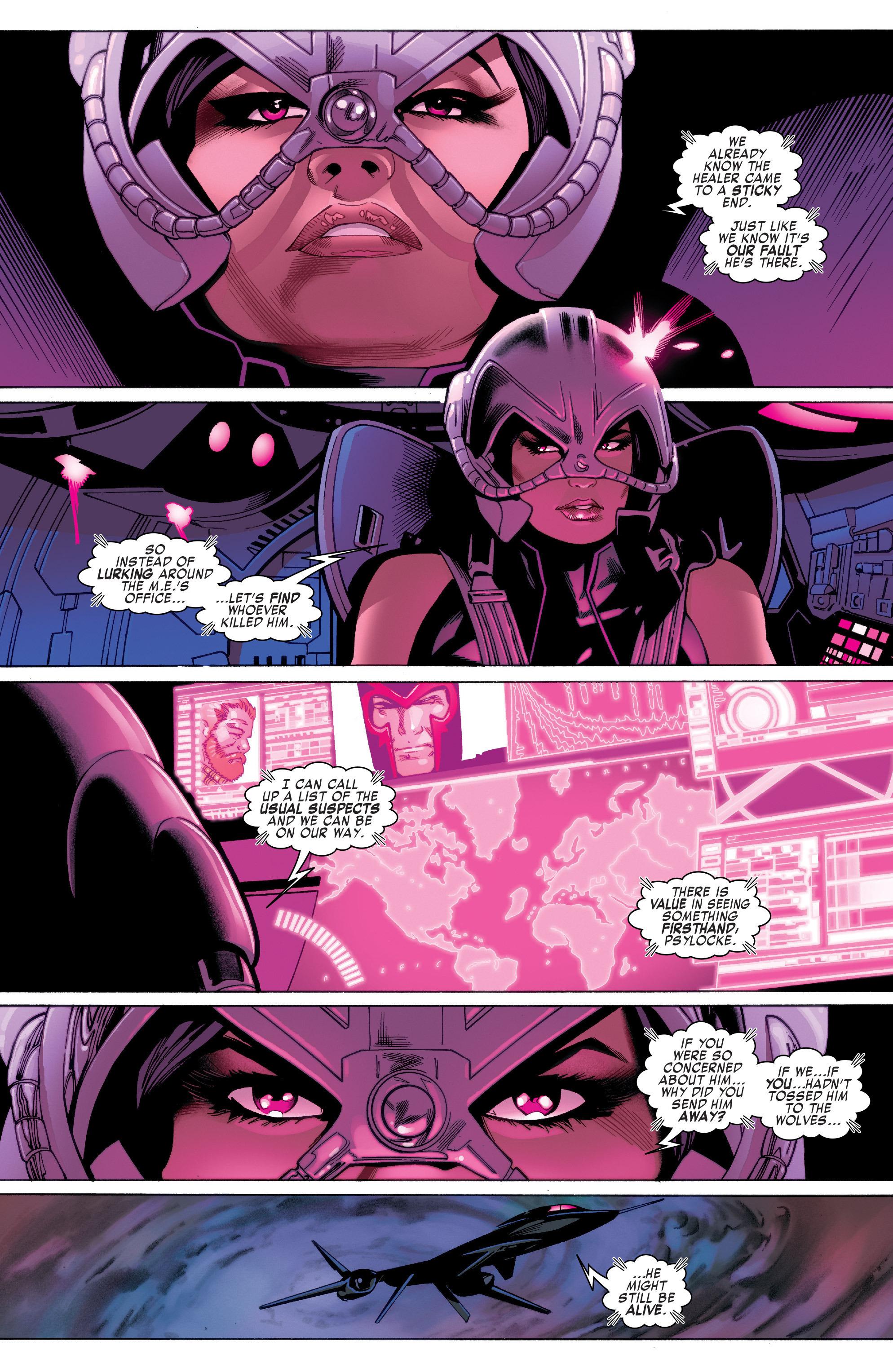 Read online Uncanny X-Men (2016) comic -  Issue #2 - 8