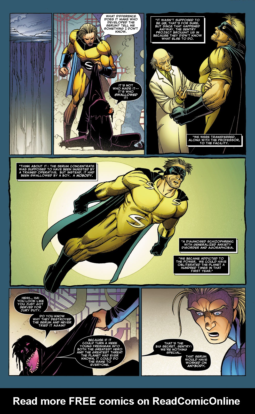 Read online Sentry (2006) comic -  Issue #8 - 18