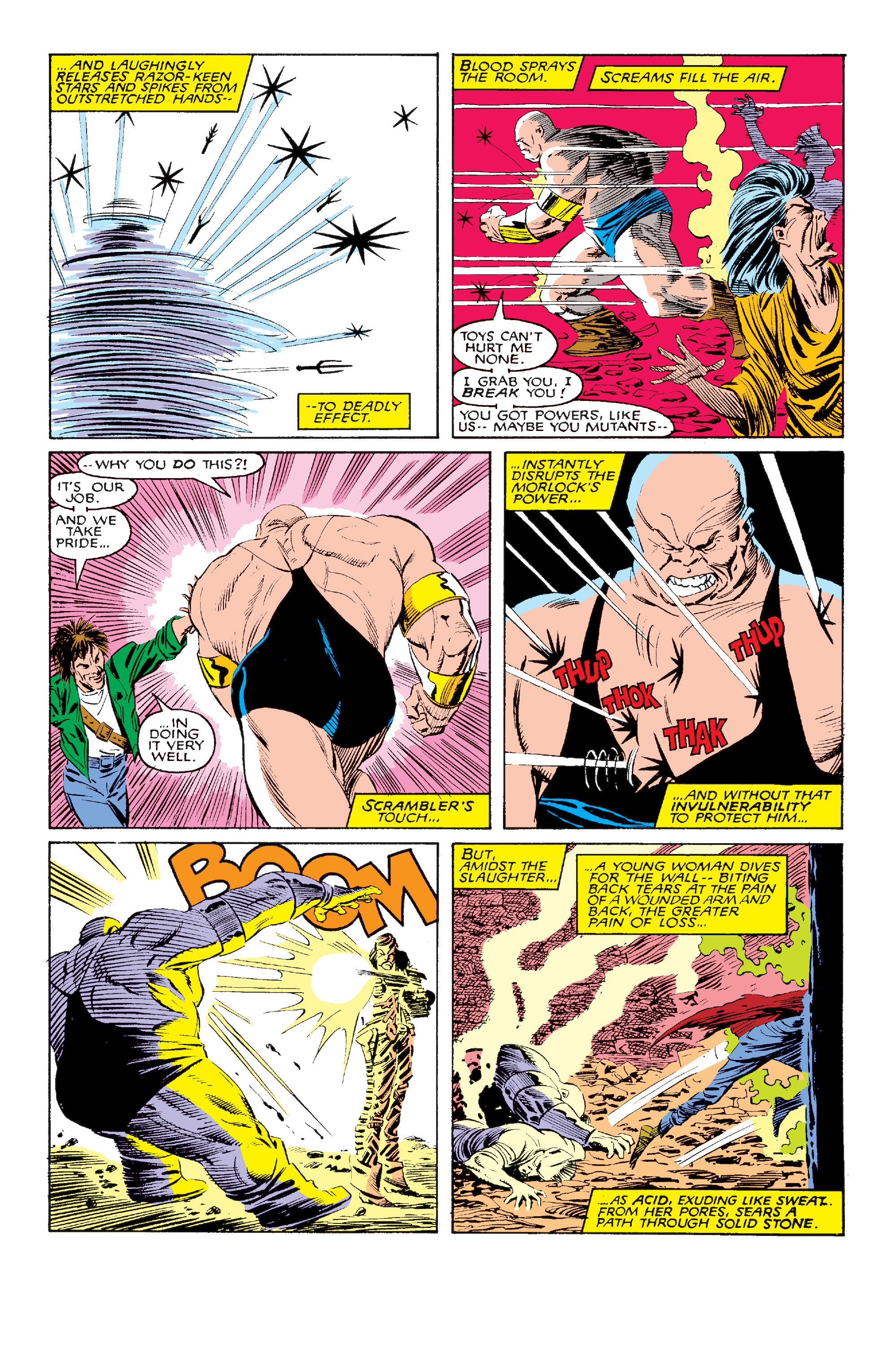 Read online Uncanny X-Men (1963) comic -  Issue #211 - 4