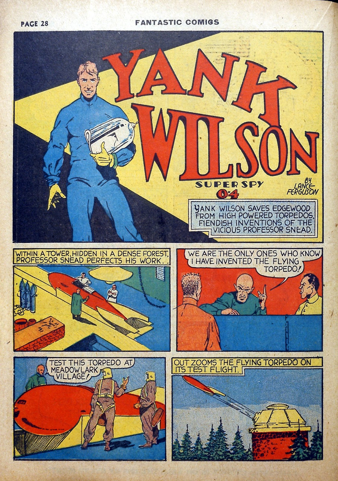 Read online Fantastic Comics comic -  Issue #5 - 29