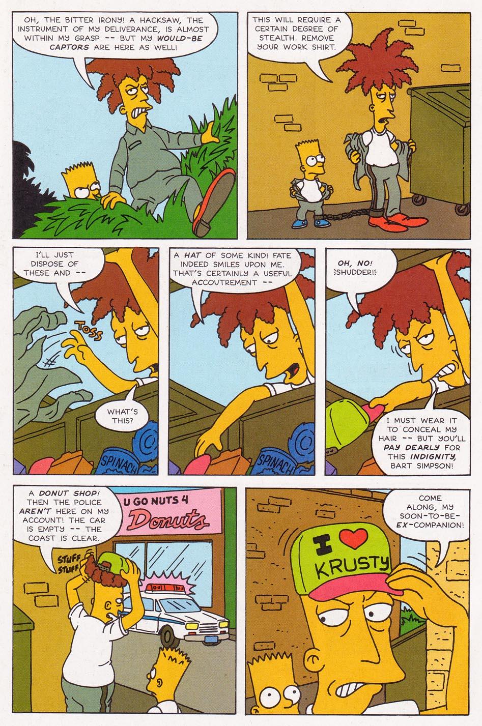 Read online Simpsons Comics comic -  Issue #2 - 21