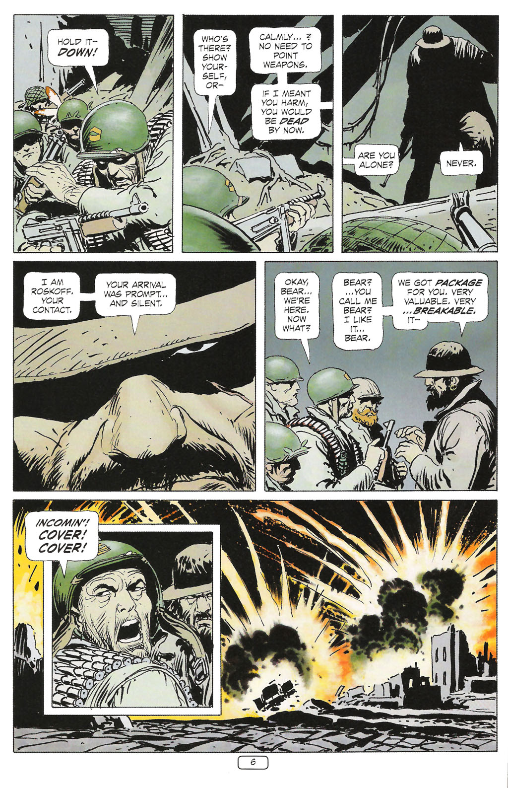 Read online Sgt. Rock: The Prophecy comic -  Issue #1 - 8