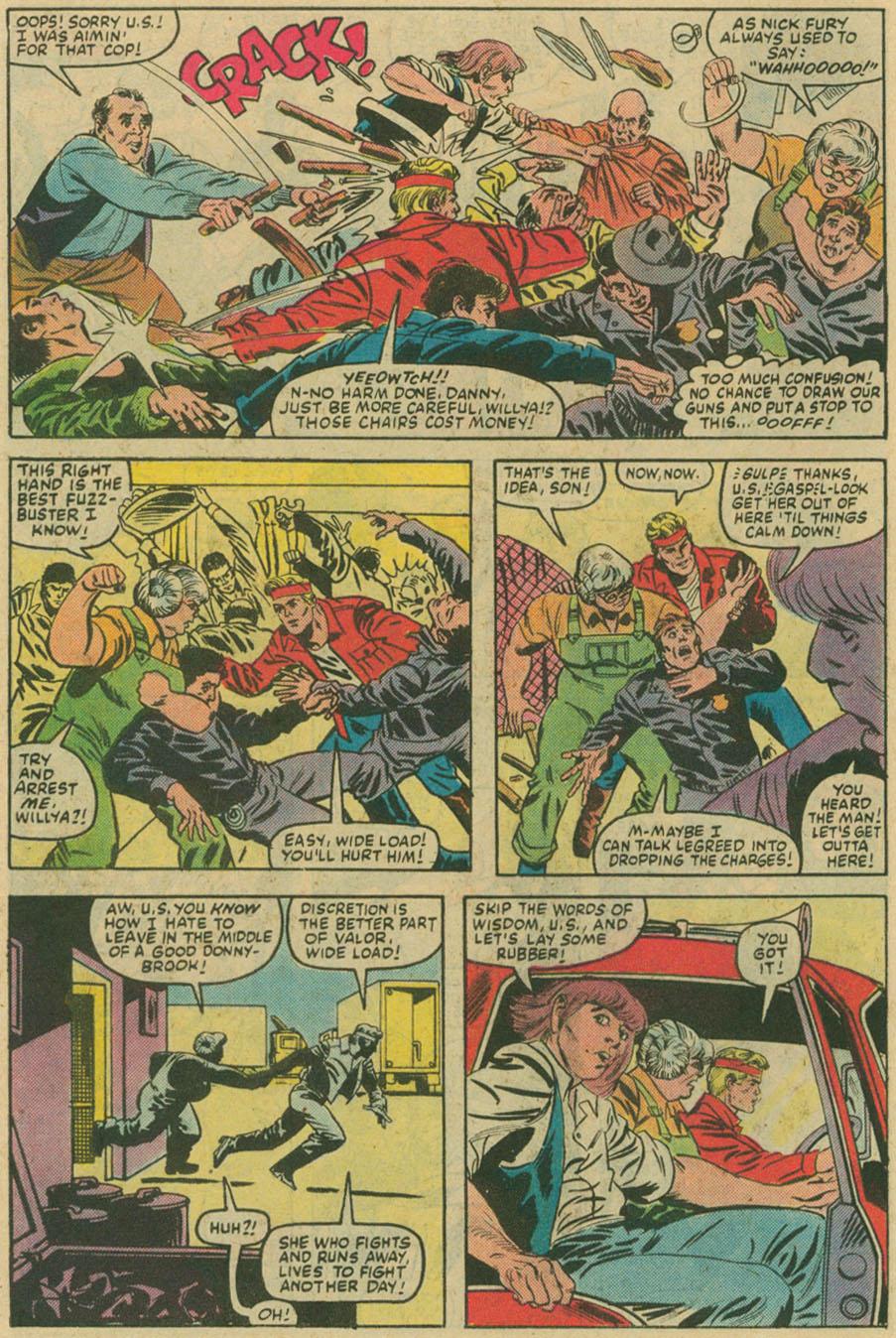 Read online U.S. 1 comic -  Issue #6 - 8