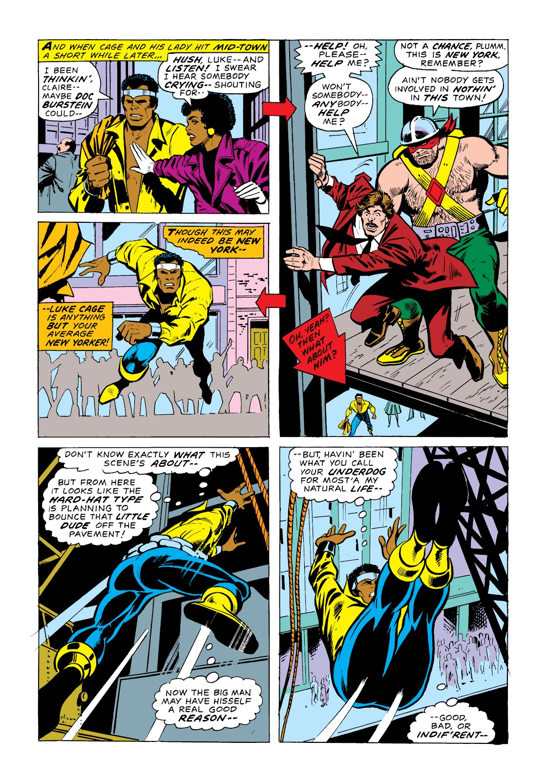Read online Marvel Masterworks: Luke Cage, Power Man comic -  Issue # TPB 2 (Part 1) - 33