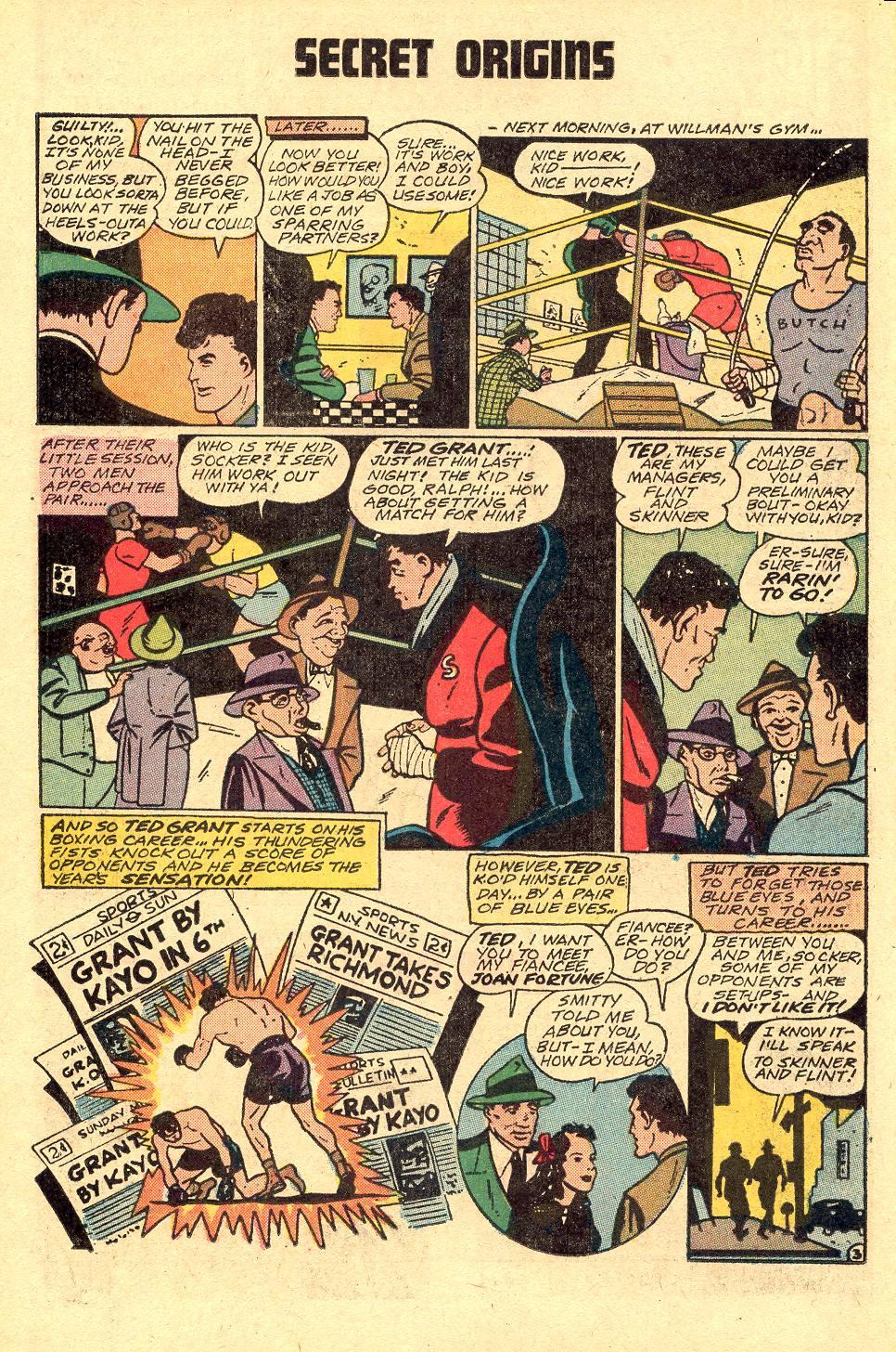 Read online Secret Origins (1973) comic -  Issue #3 - 25