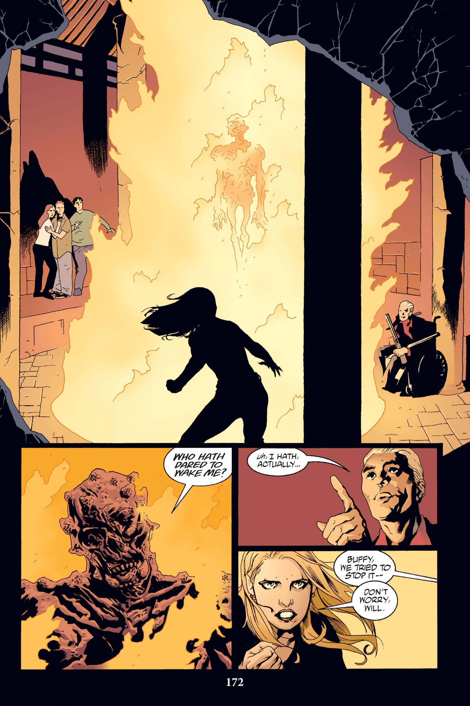 Read online Buffy the Vampire Slayer: Omnibus comic -  Issue # TPB 2 - 166