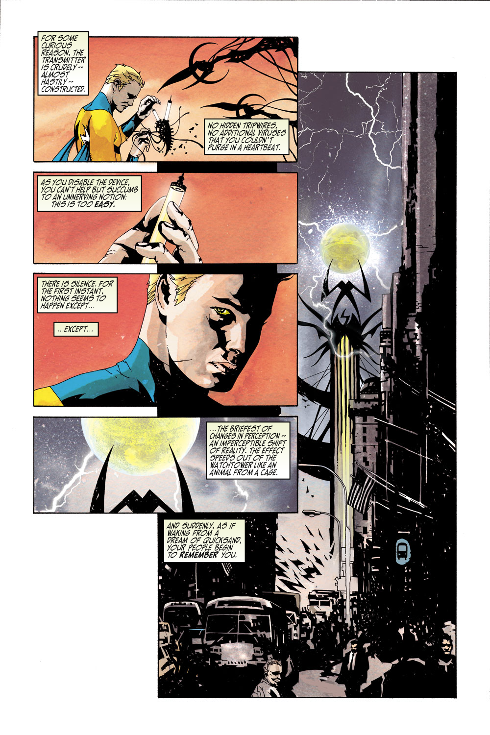 Read online Sentry (2000) comic -  Issue #5 - 6