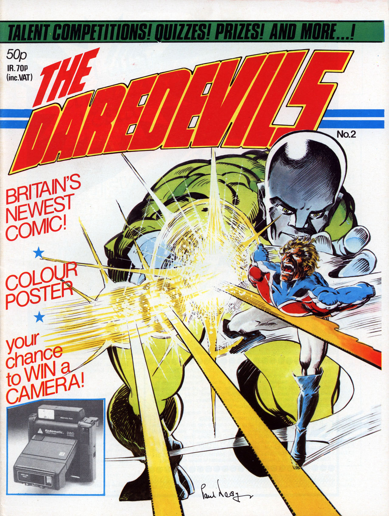 The Daredevils 2 Page 1