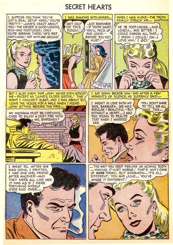 Read online Secret Hearts comic -  Issue #26 - 23