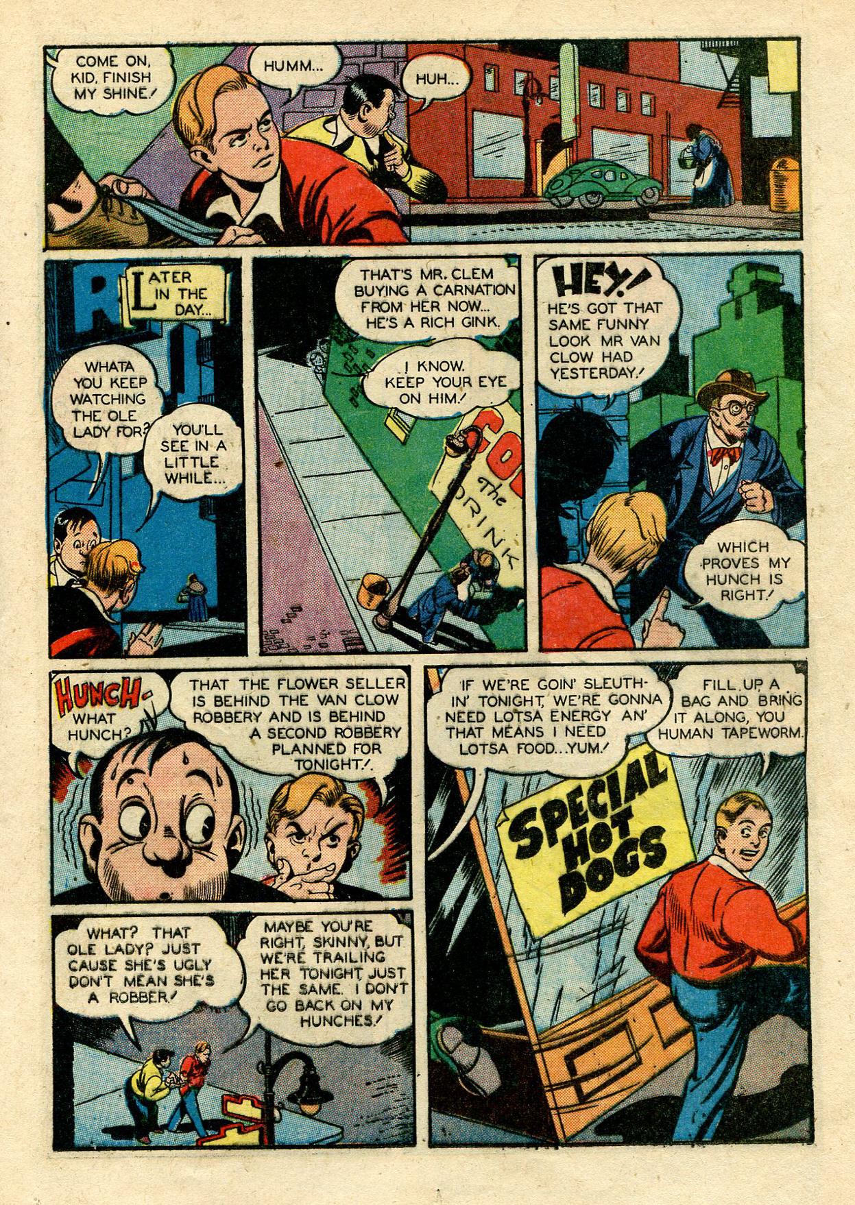 Read online Shadow Comics comic -  Issue #33 - 31