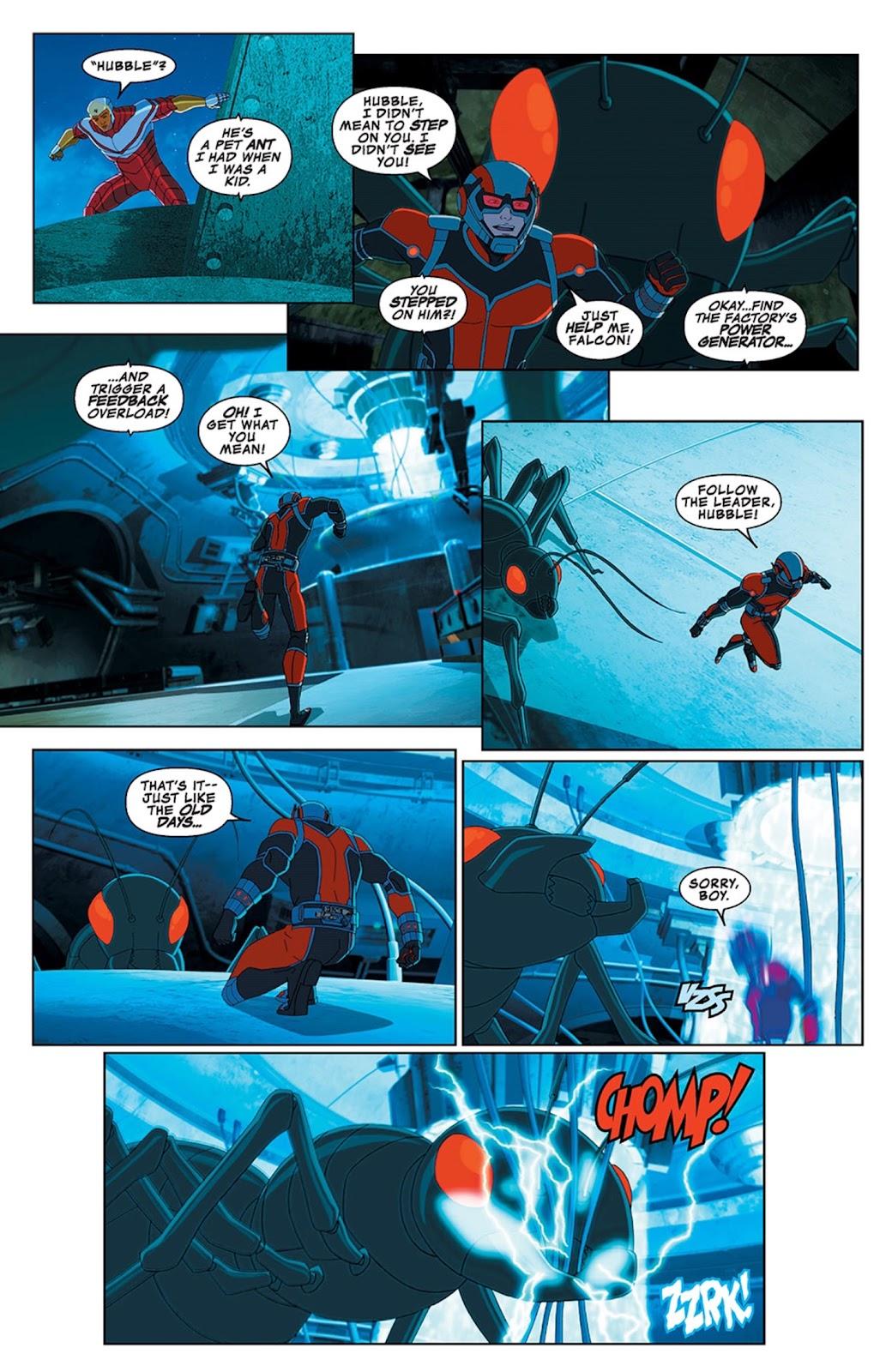 Read online Marvel Universe Avengers Assemble Season 2 comic -  Issue #13 - 14