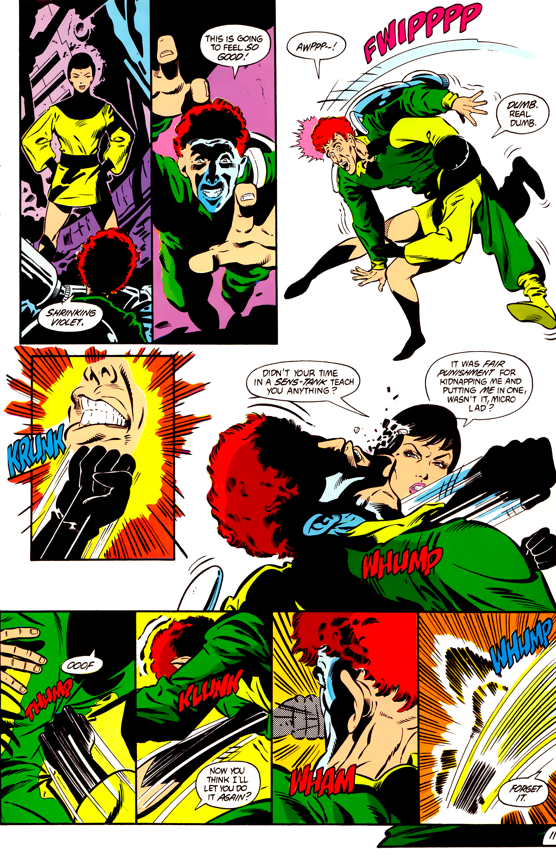 Legion of Super-Heroes (1984) 1 Page 12