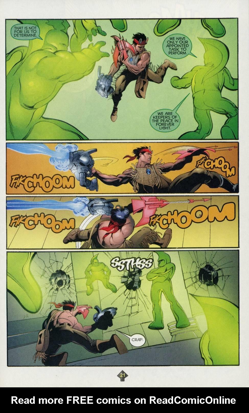 Read online Turok comic -  Issue #4 - 16