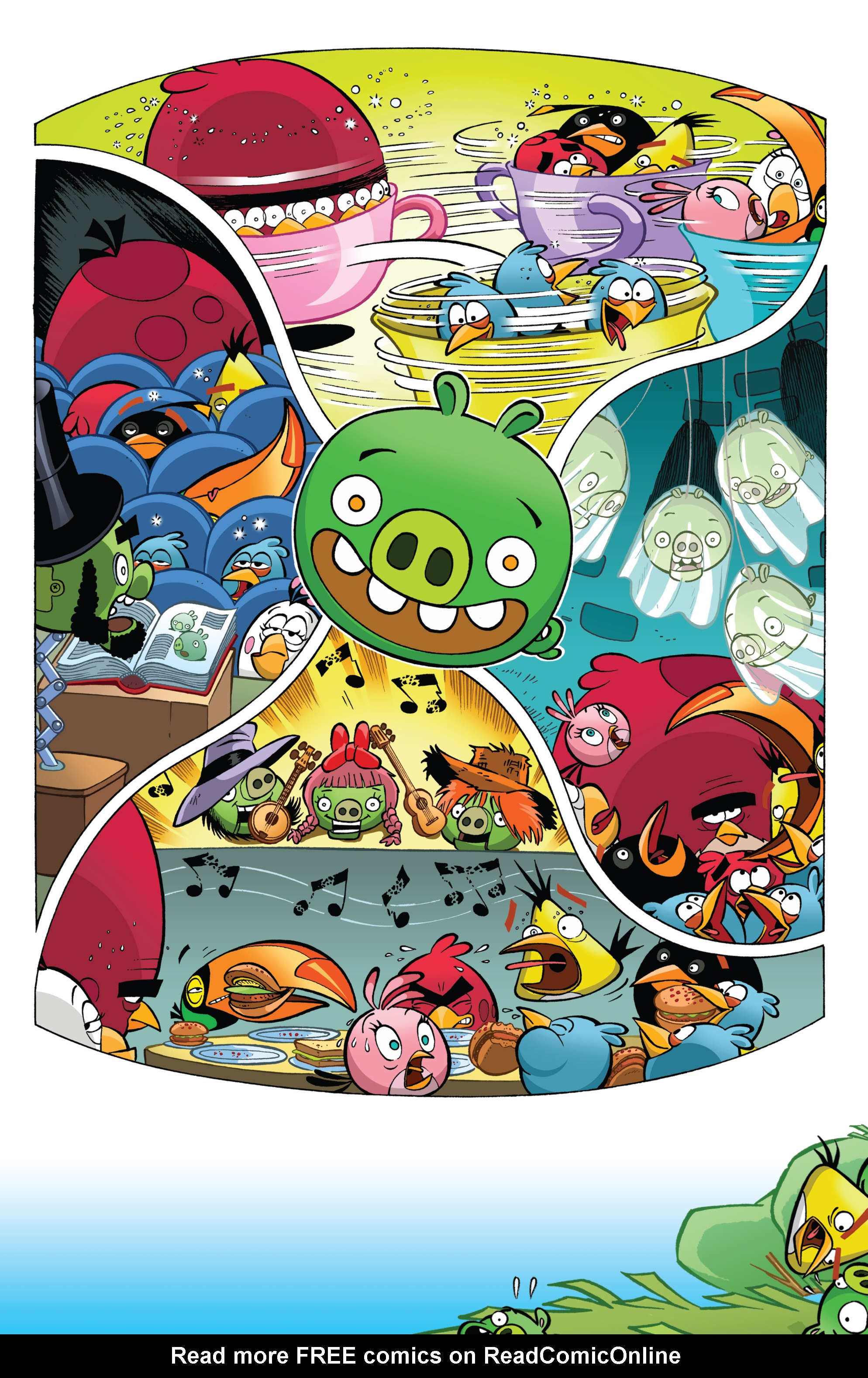 Read online Angry Birds Comics (2014) comic -  Issue #2 - 25