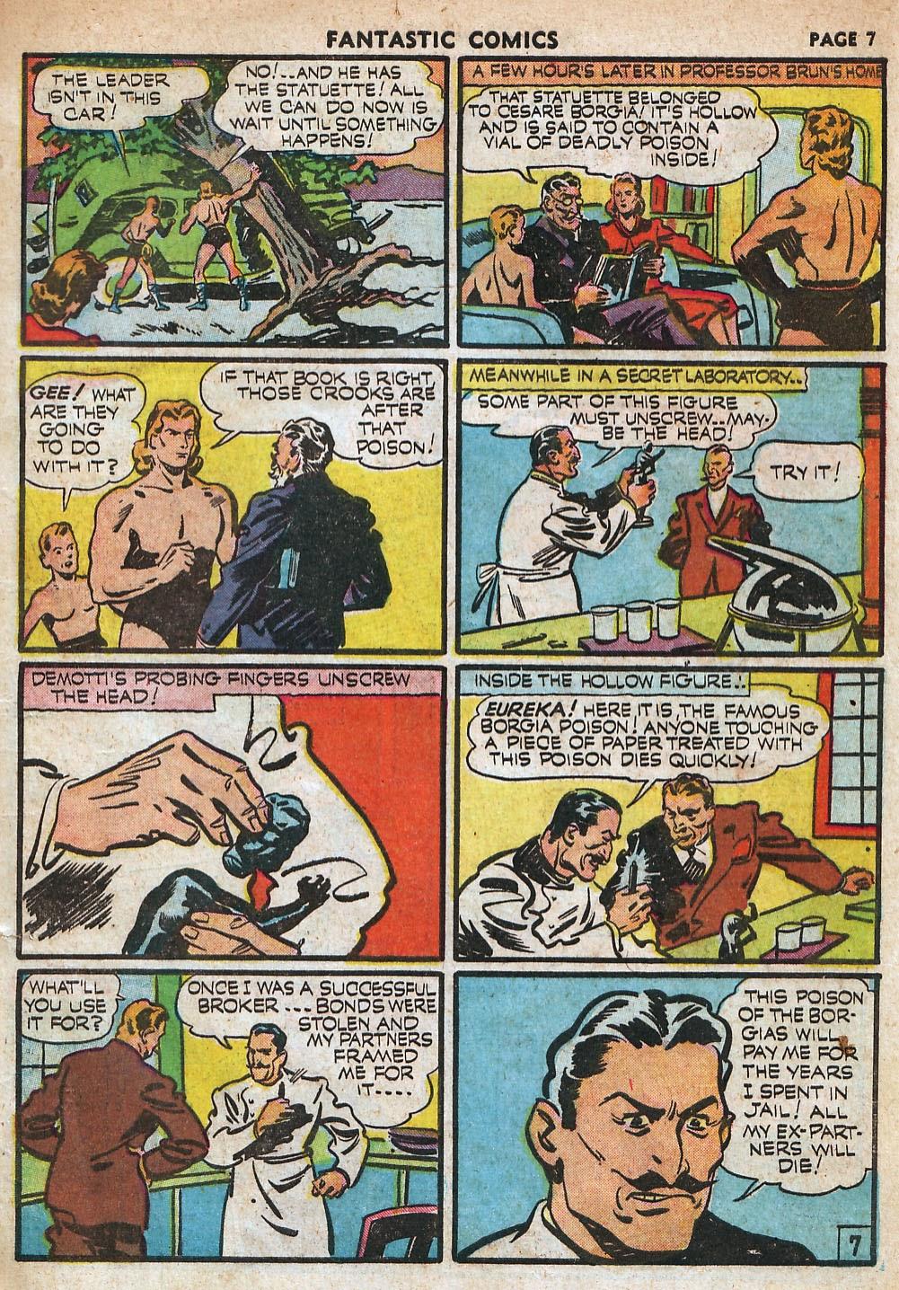 Read online Fantastic Comics comic -  Issue #18 - 9