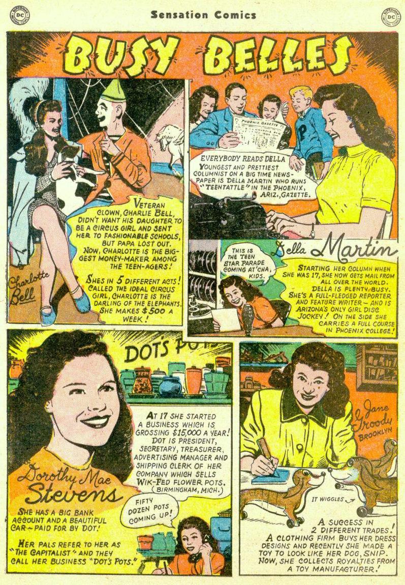 Read online Sensation (Mystery) Comics comic -  Issue #98 - 34