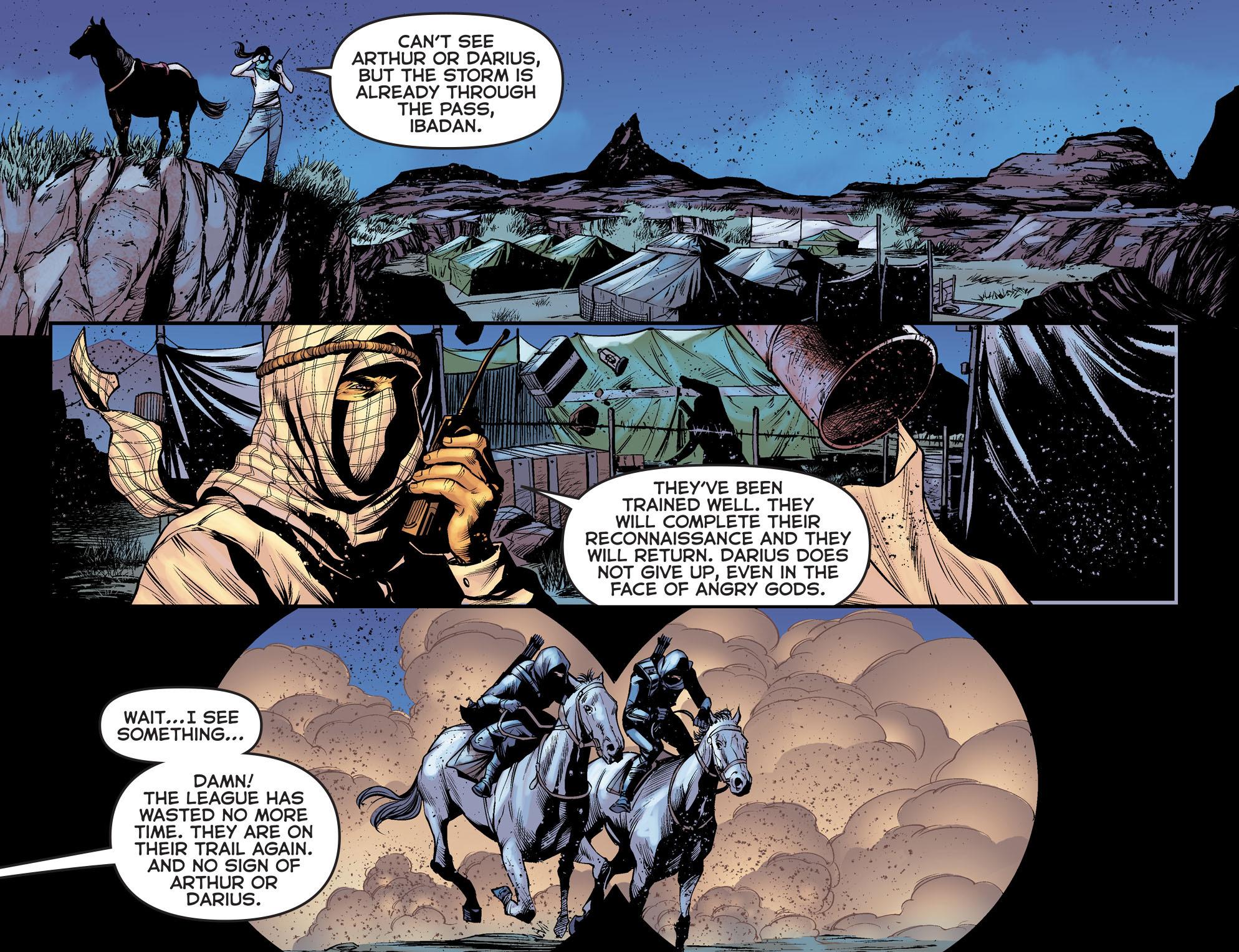 Read online Arrow: The Dark Archer comic -  Issue #5 - 9