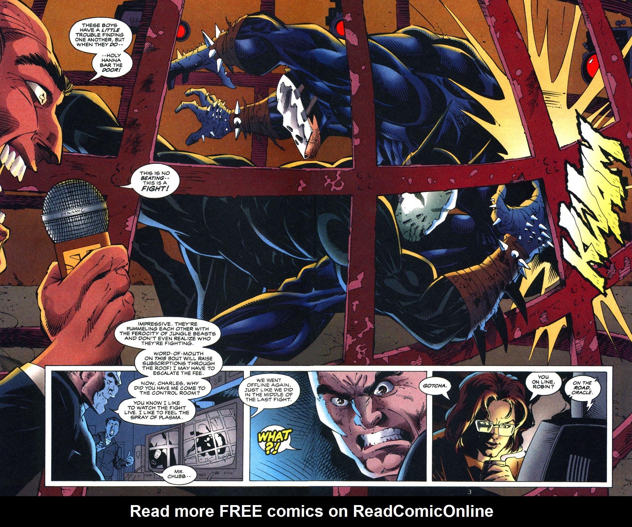 Read online Batman/Wildcat comic -  Issue #3 - 3