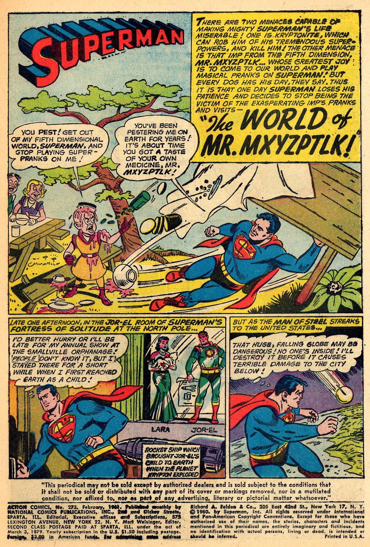 Read online Action Comics (1938) comic -  Issue #273 - 3