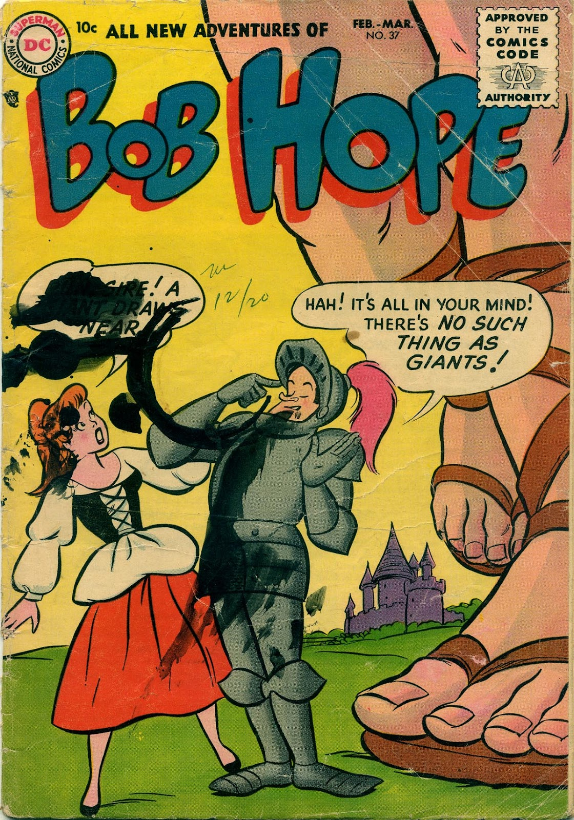 The Adventures of Bob Hope issue 37 - Page 1