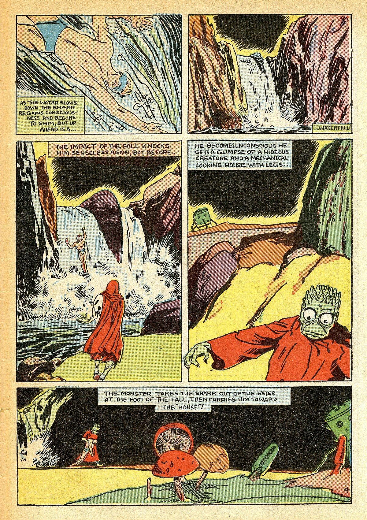Read online Amazing Man Comics comic -  Issue #10 - 62