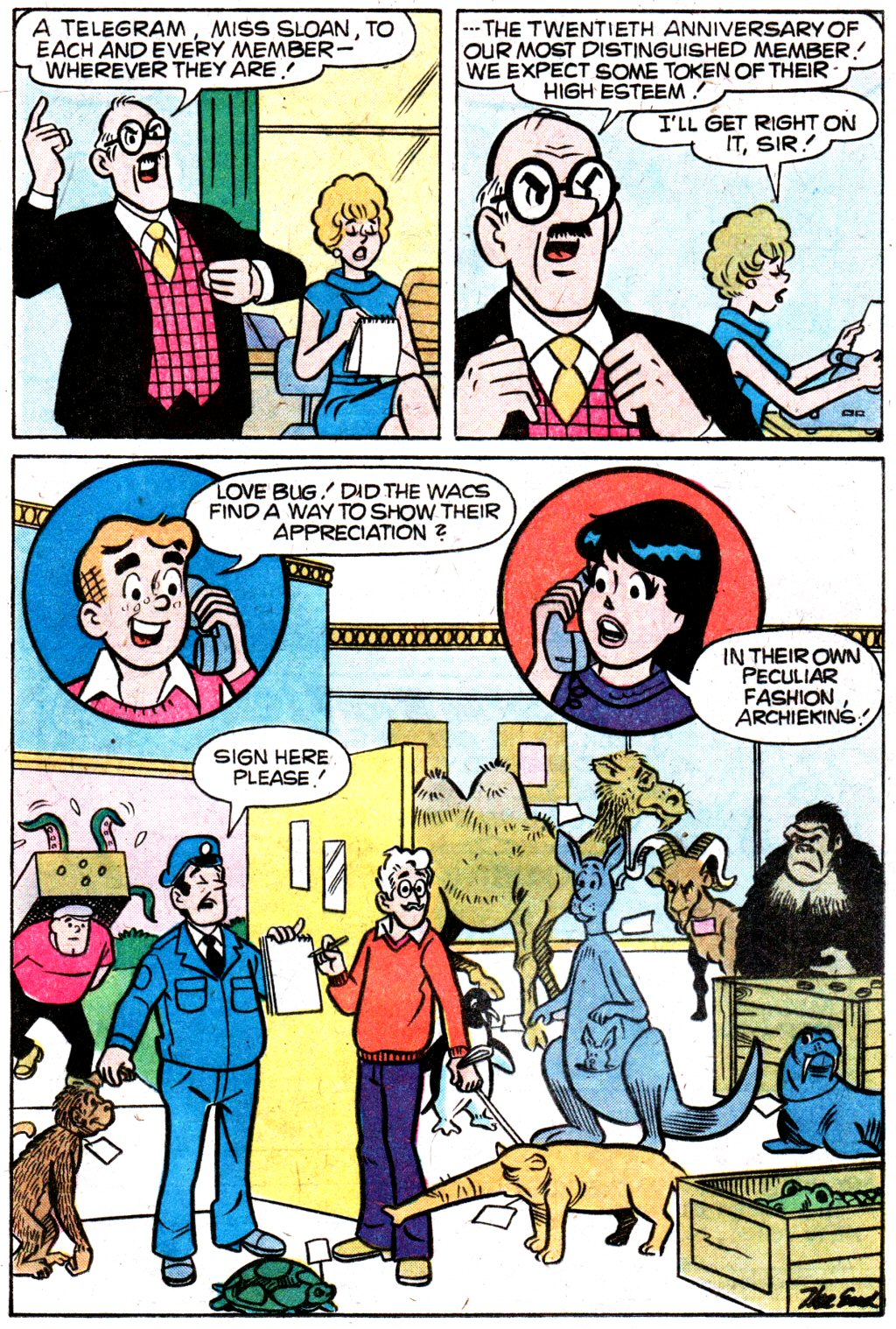 Read online Archie (1960) comic -  Issue #274 - 17